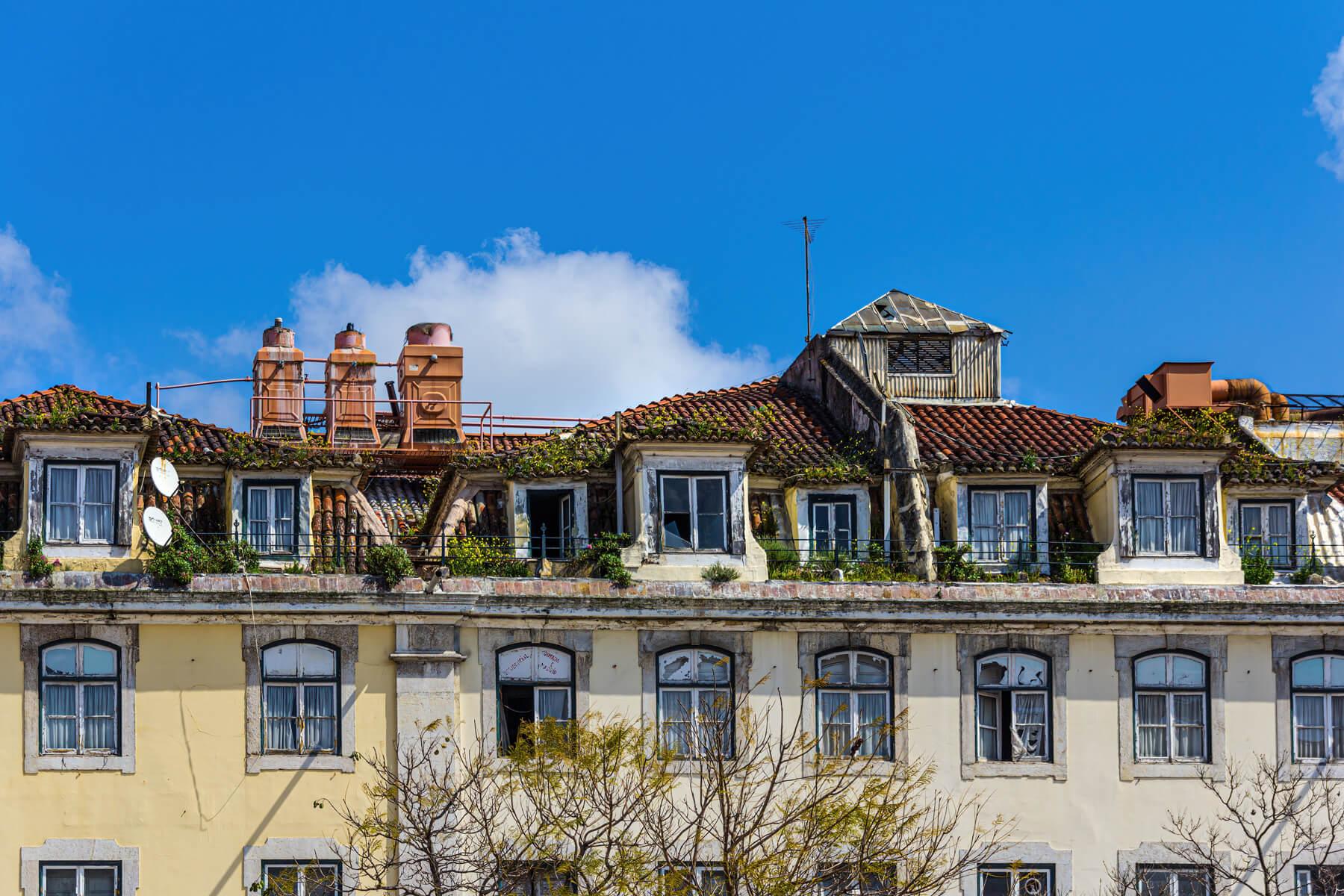 Former Glory of Lisbon, Portugal