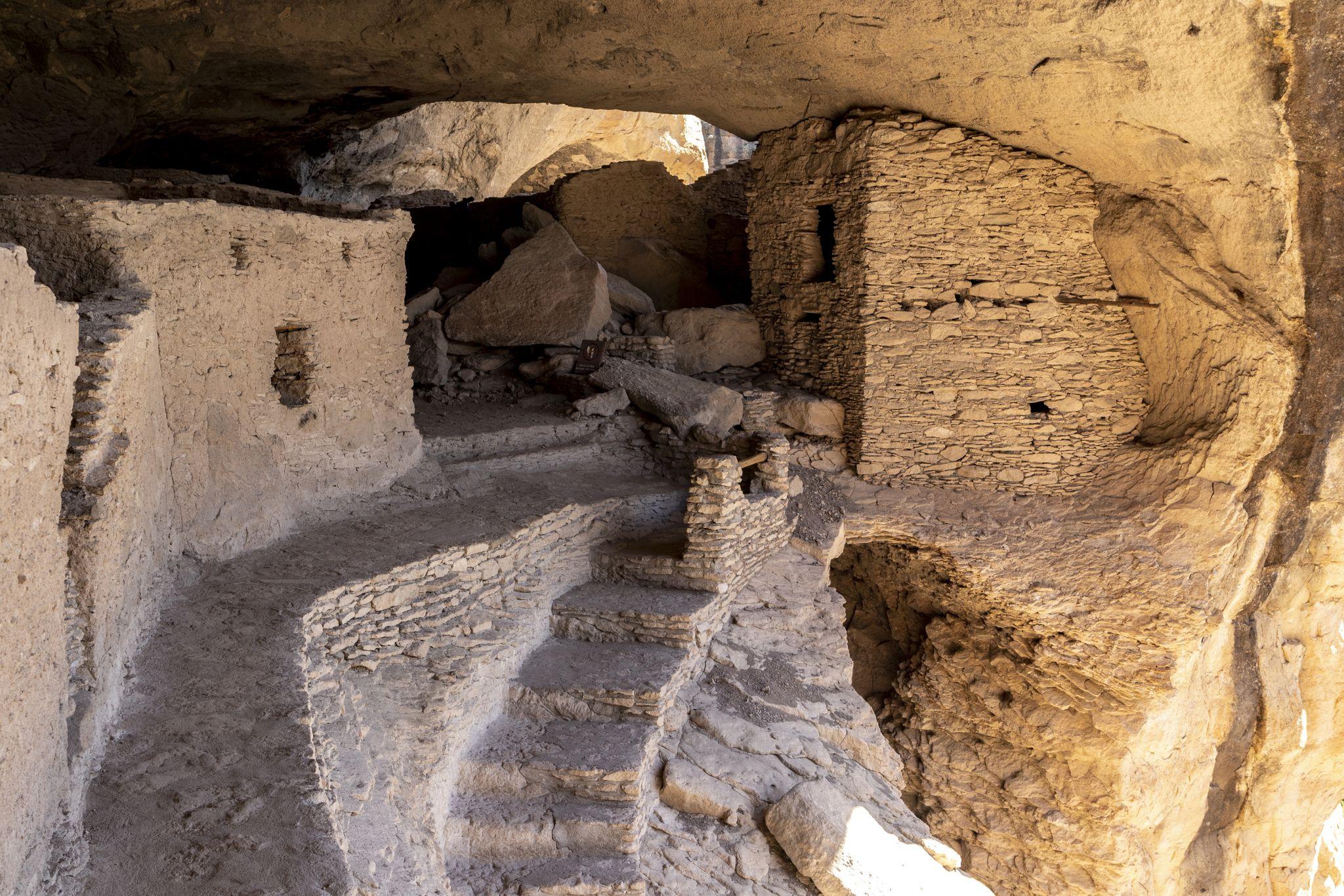 Gila Cliff Dwellings, USA