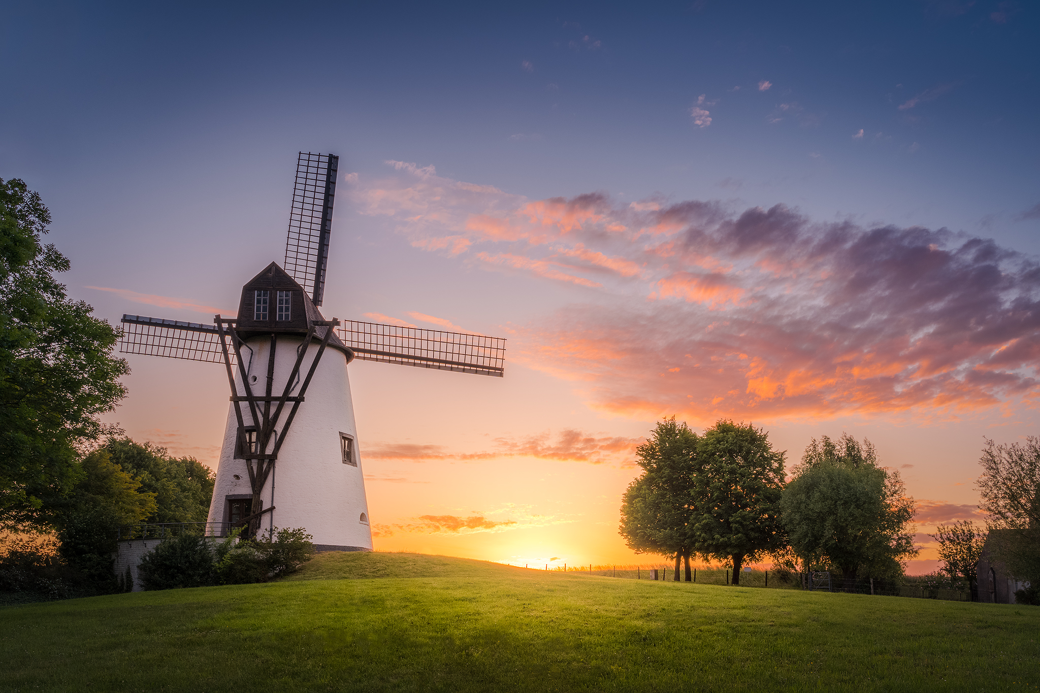 Gustot mill, Belgium