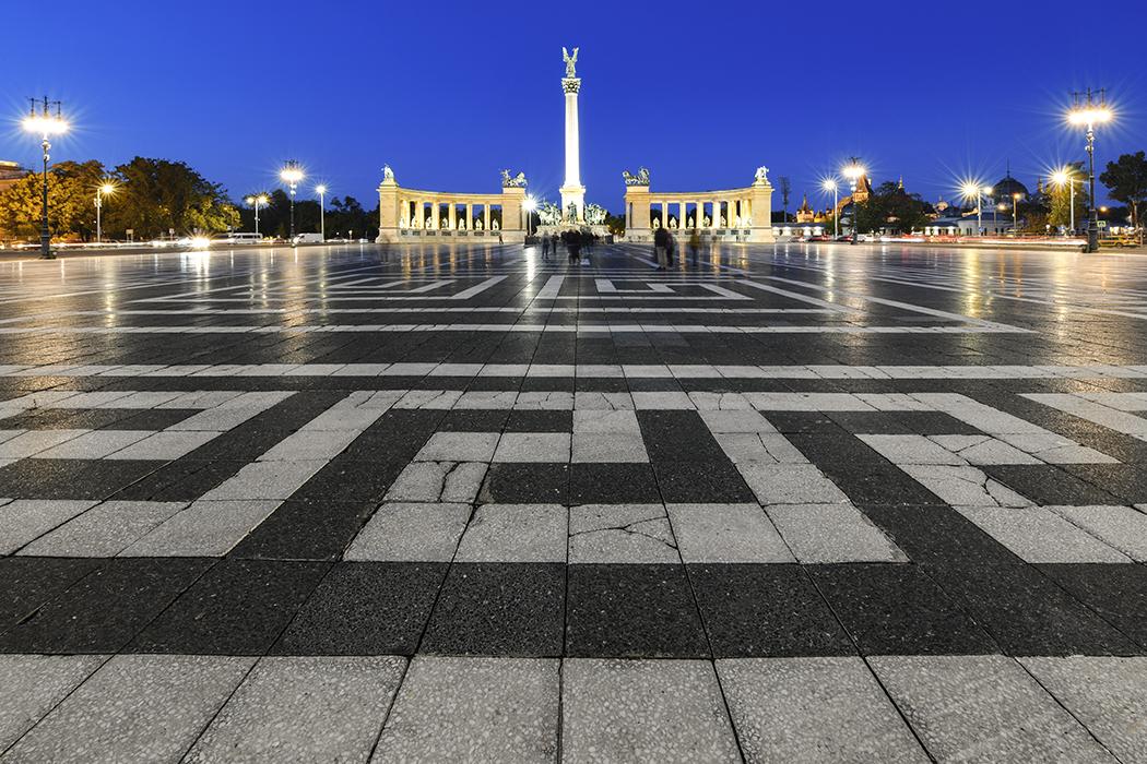 Heroes' Square Buda, Hungary
