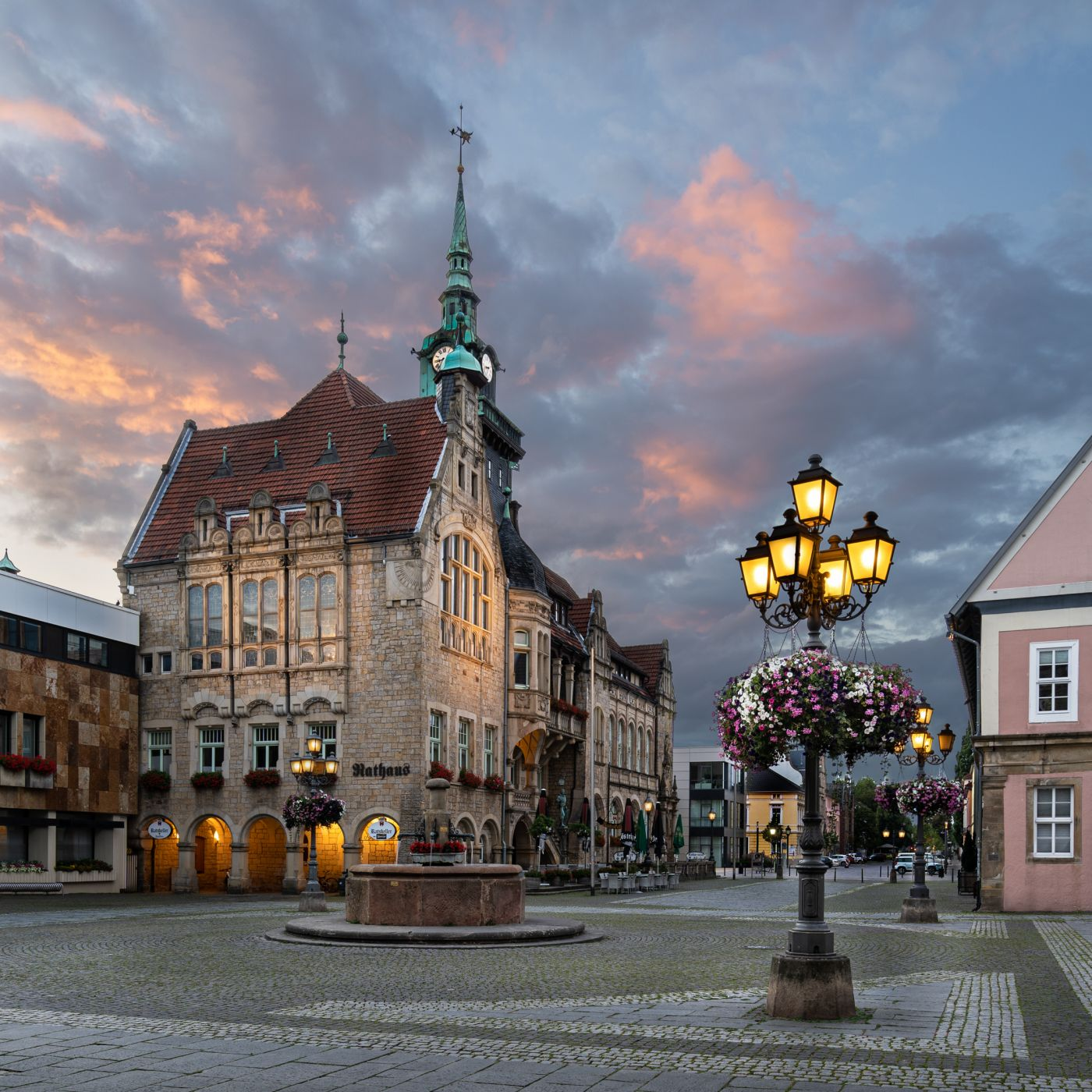 Historic Town Hall of Bueckeburg, Germany