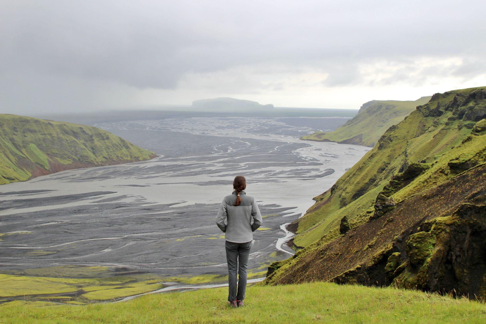 Katla Geopark view, Iceland