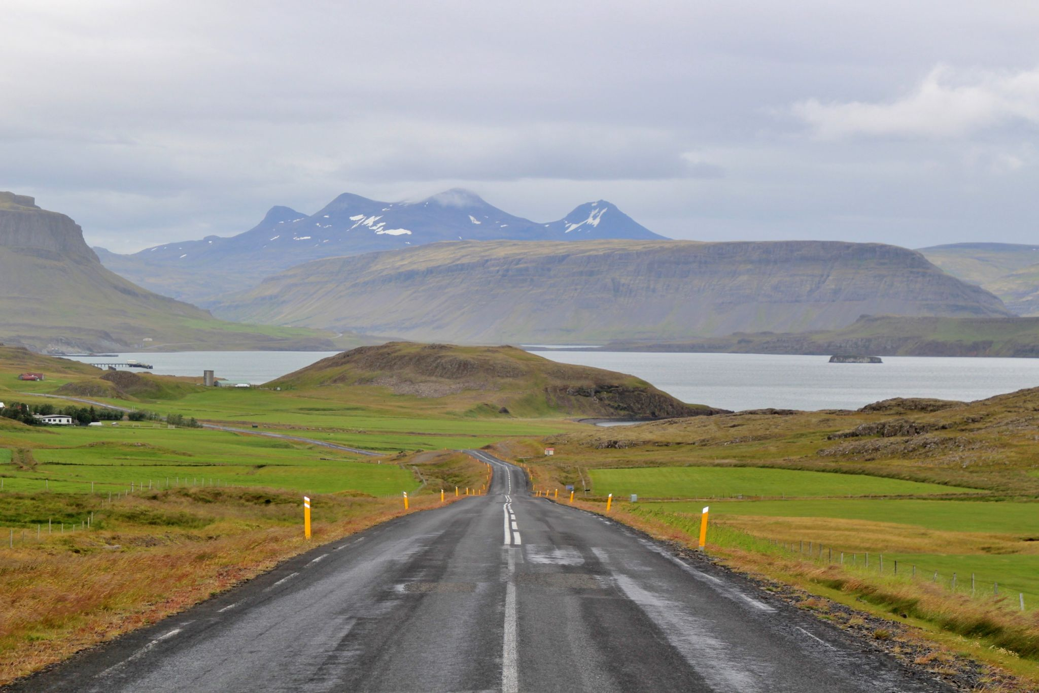 Road view, Iceland