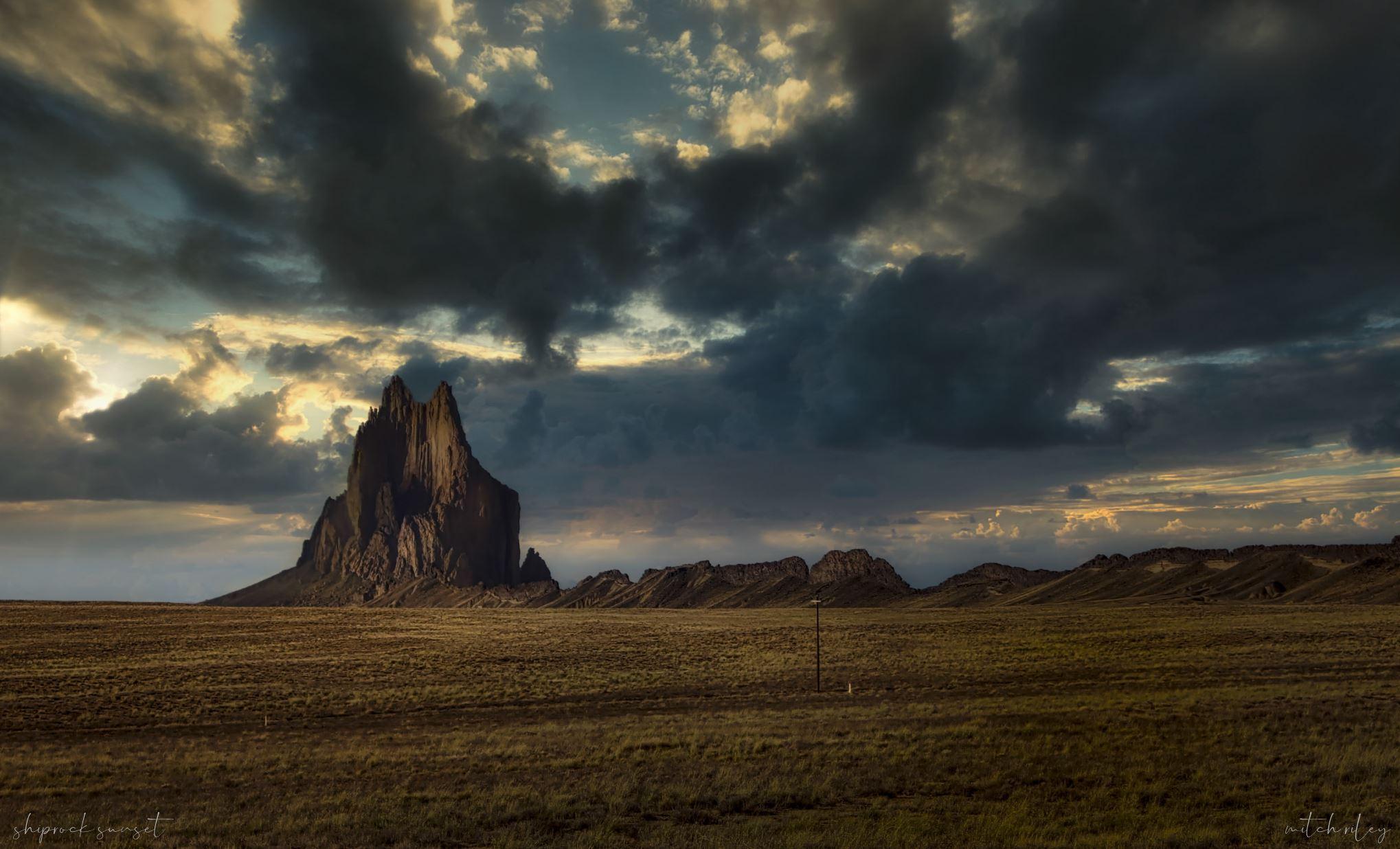 Shiprock, NM, USA