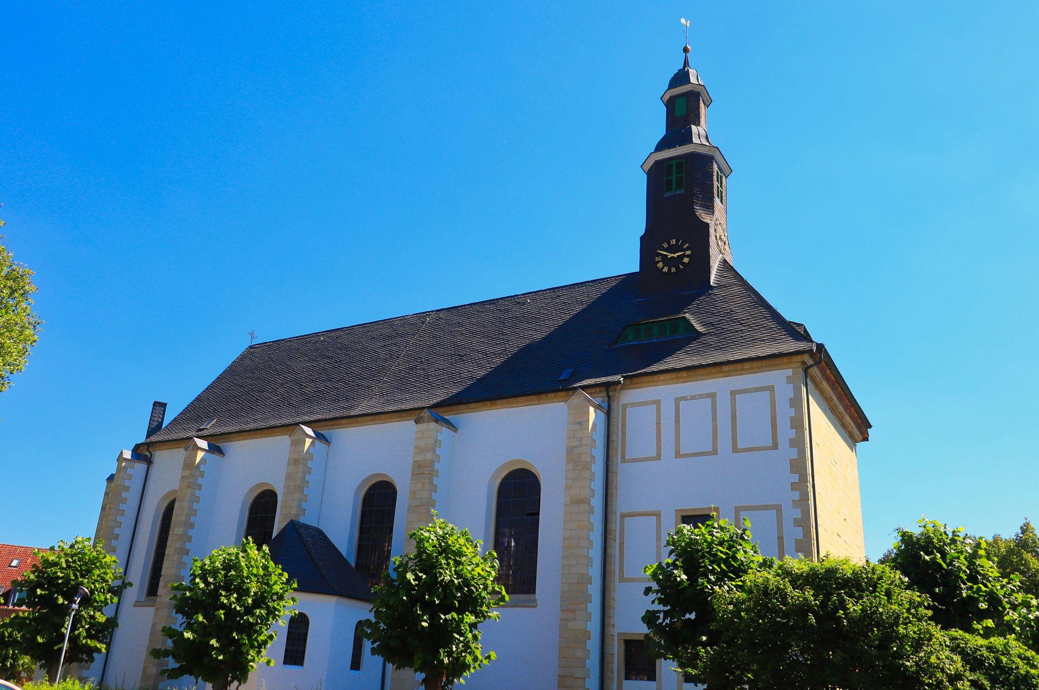 Stiftskirche Sankt Georg in Hohenholte, Germany