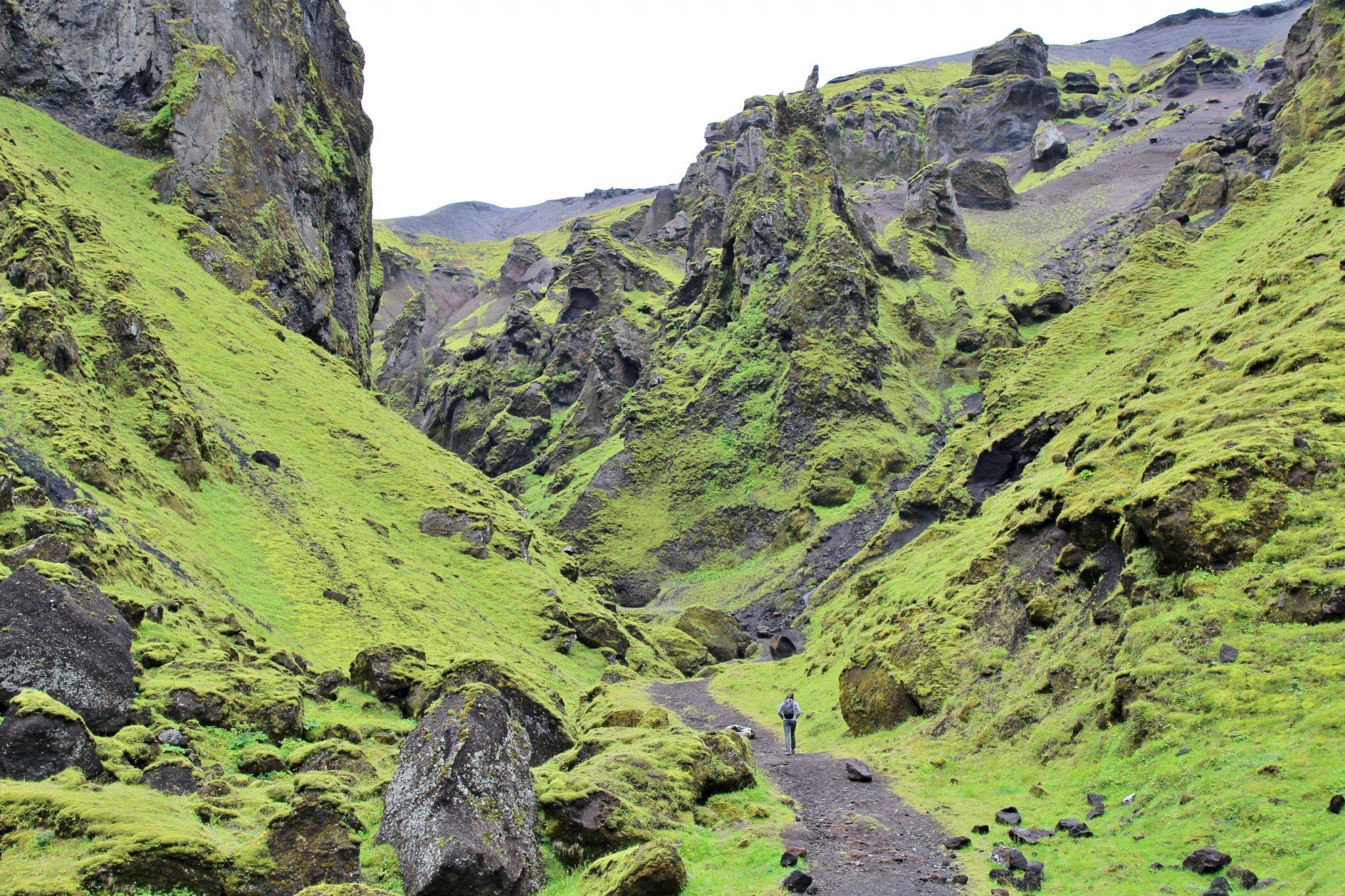 Þakgil, Iceland
