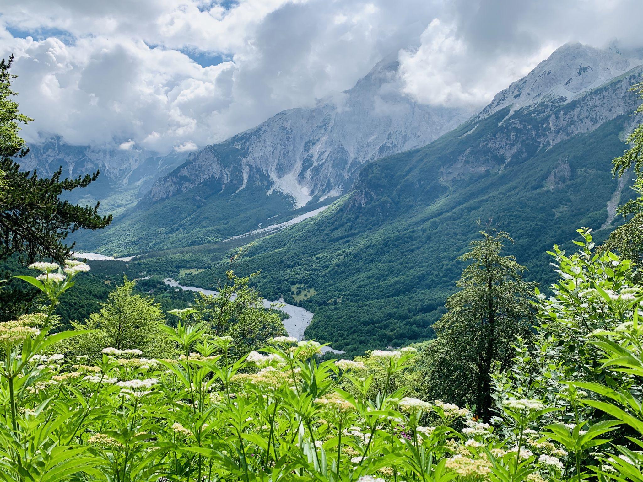 Valbona pass, Albania