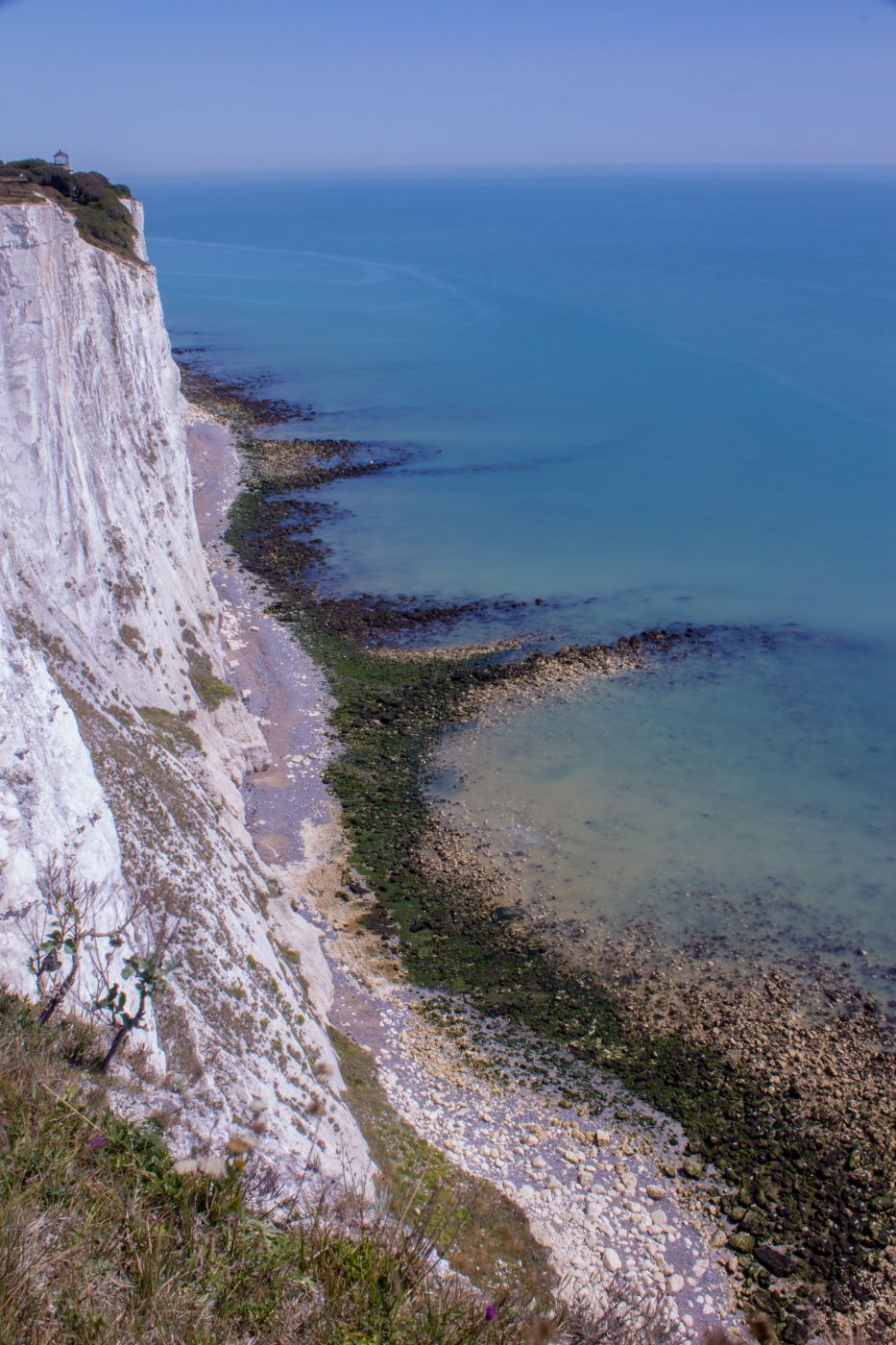 View from near Dover Lighthouse (cliffs), United Kingdom
