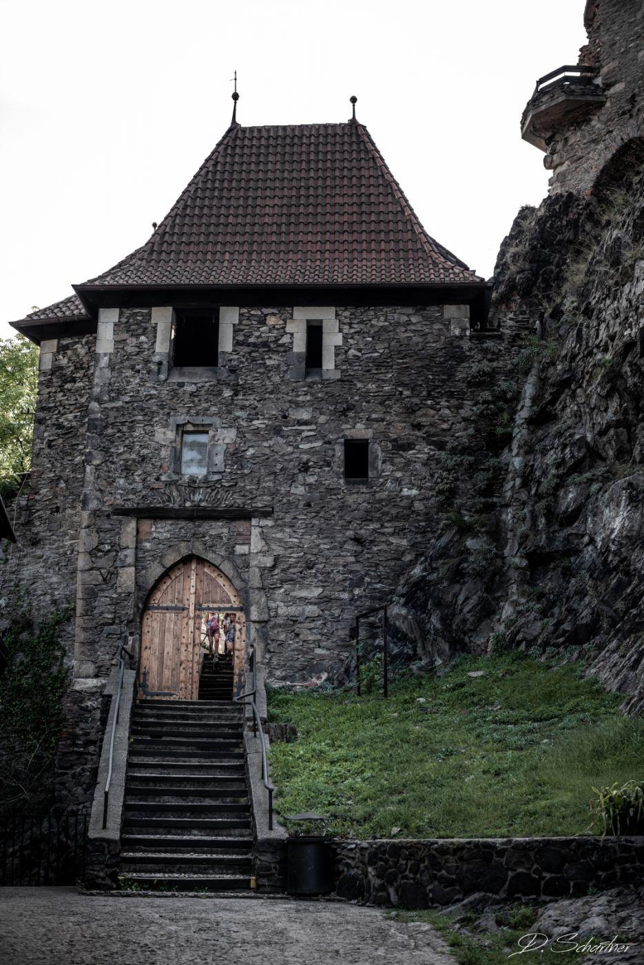 Visit Střekov Castle, Czech Republic