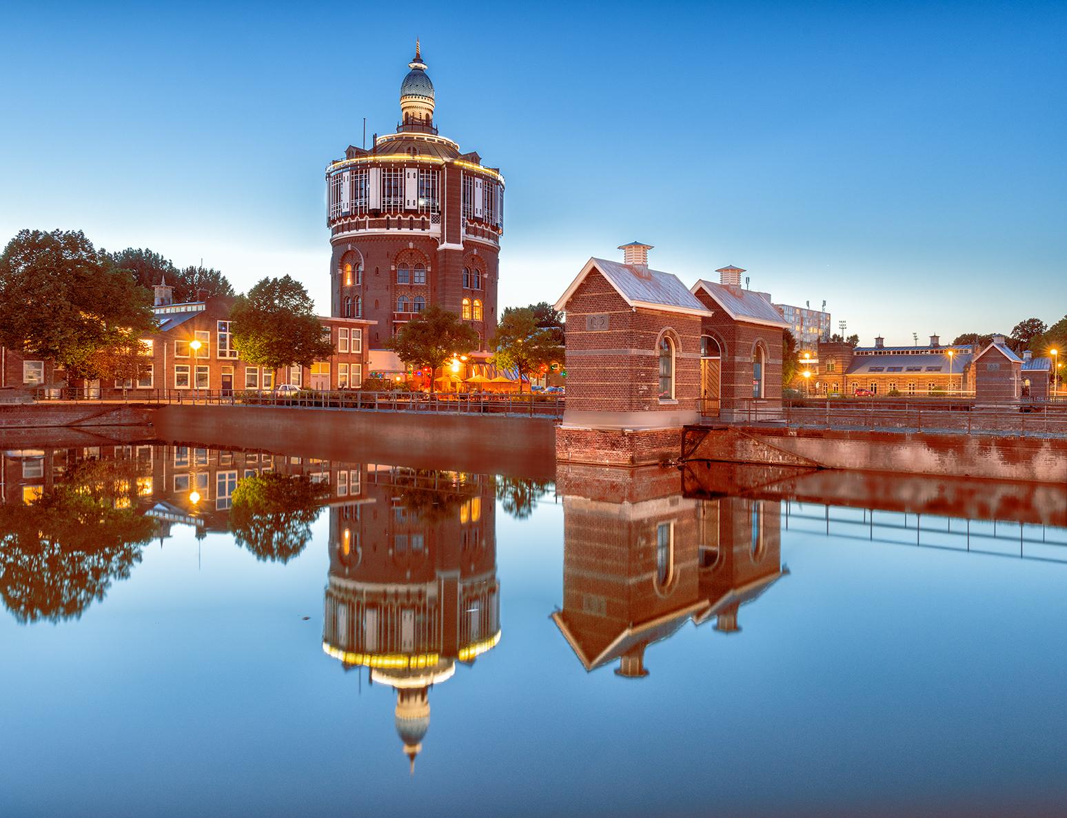 Water Tower the Esch, Rotterdam, Netherlands
