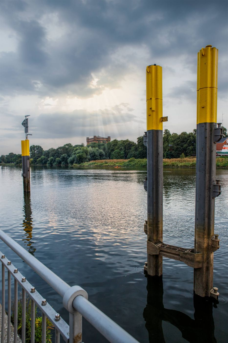 Weser near Tiefer, Germany