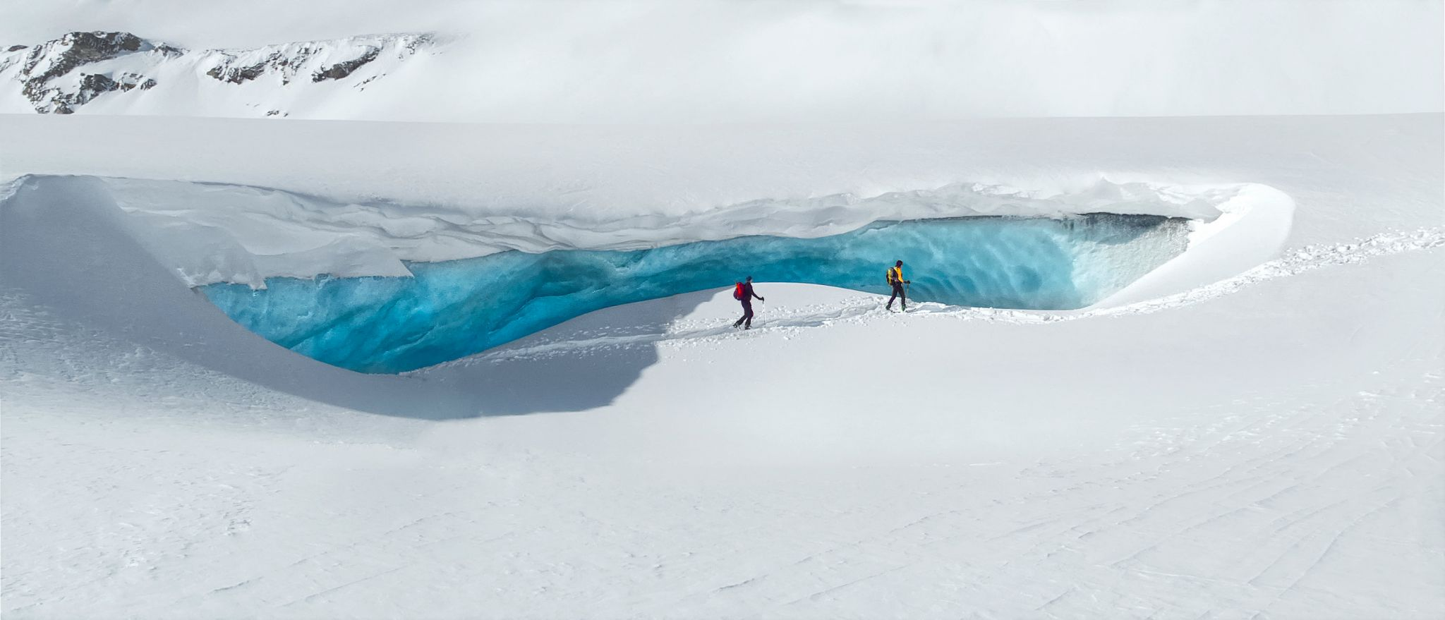 Wildstrubel gletscher, Switzerland