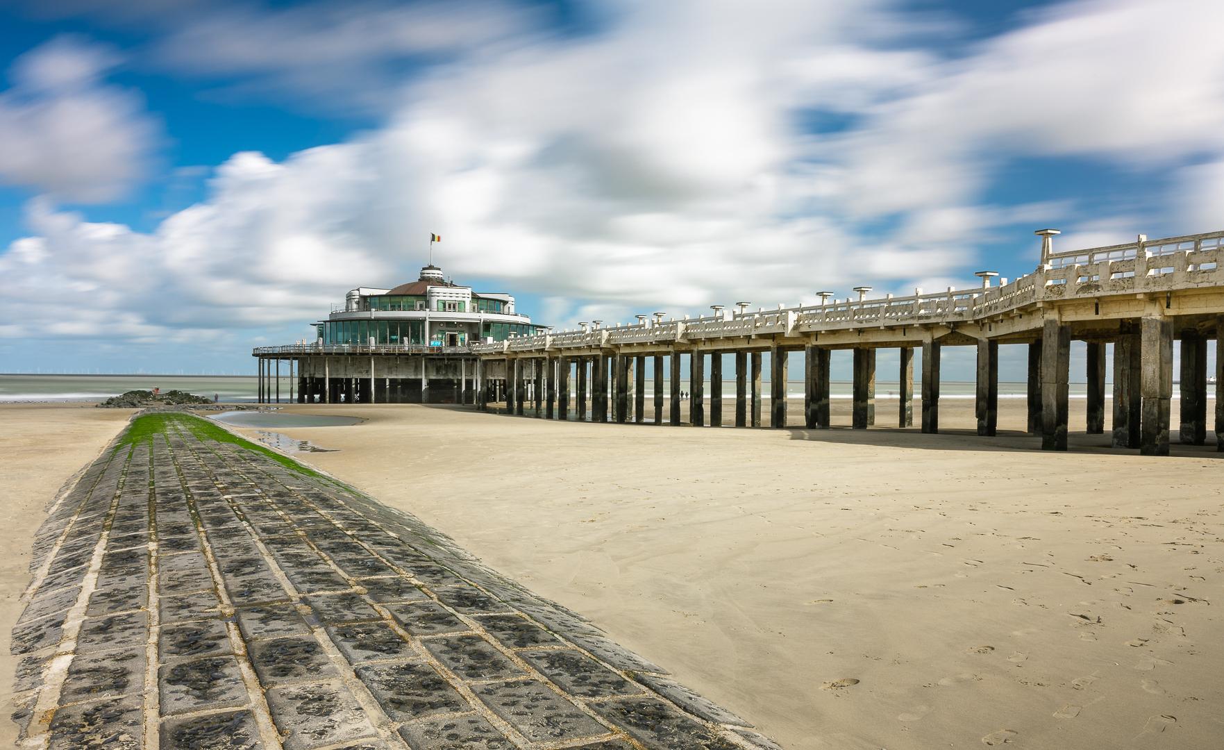 Blankenberg Pier, Belgium