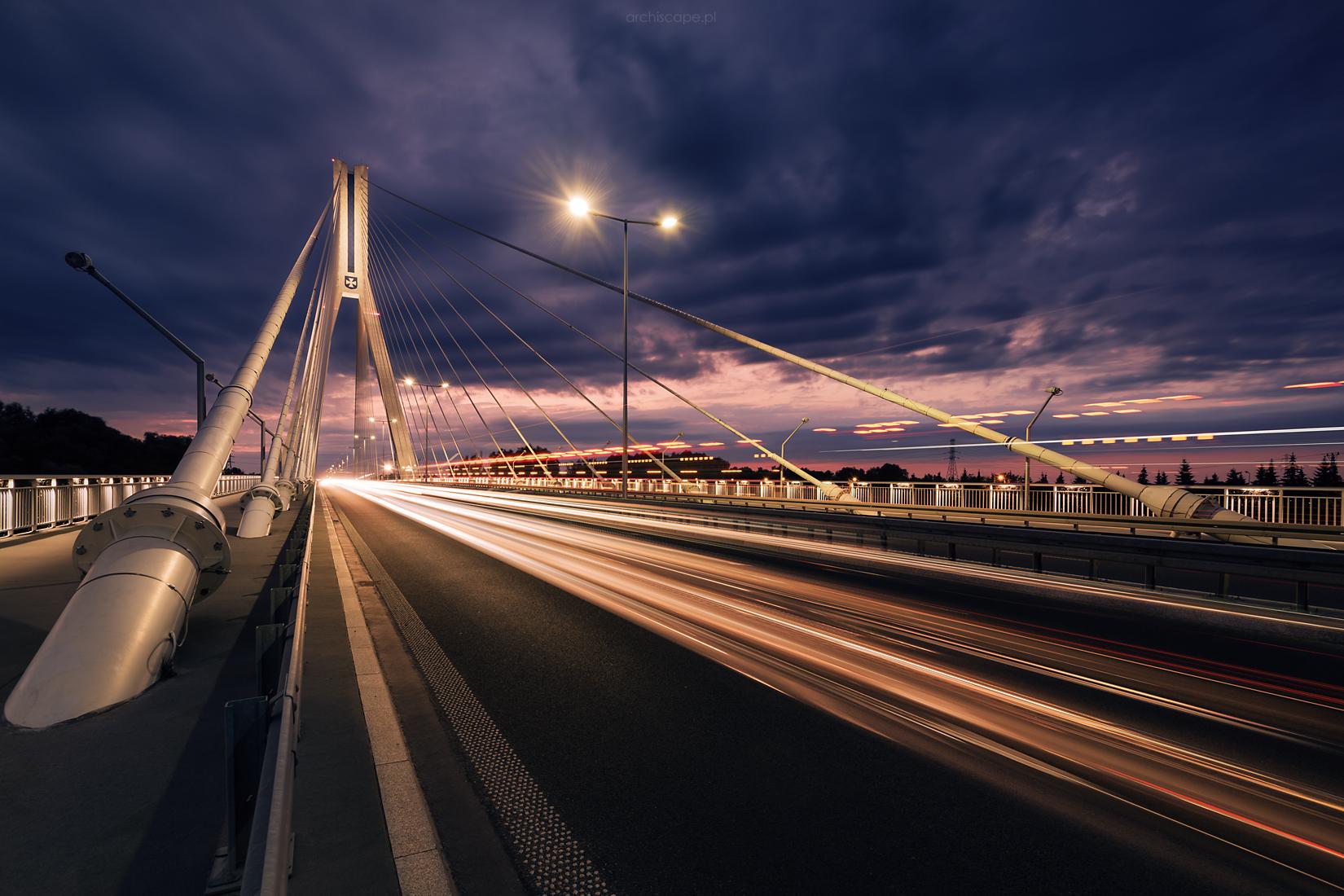 Bridge of T. Mazowiecki in Rzeszów, Poland