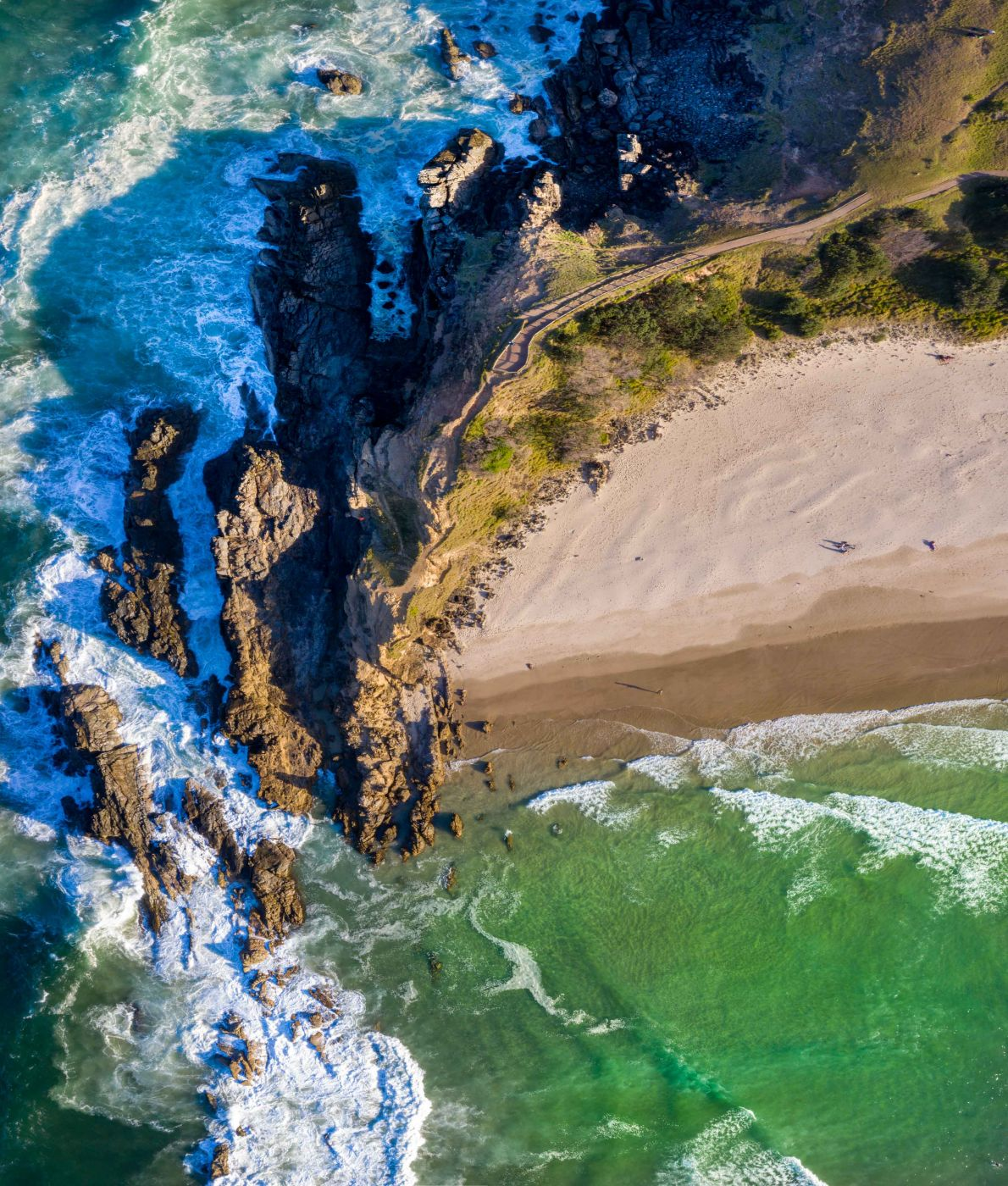 Cape Byron Headland from above Byron Bay New South Wales, Australia