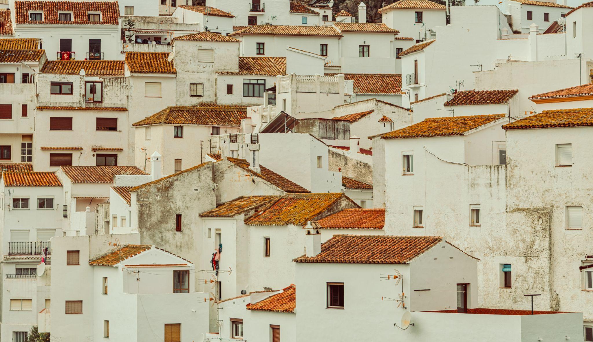Casares village, Spain