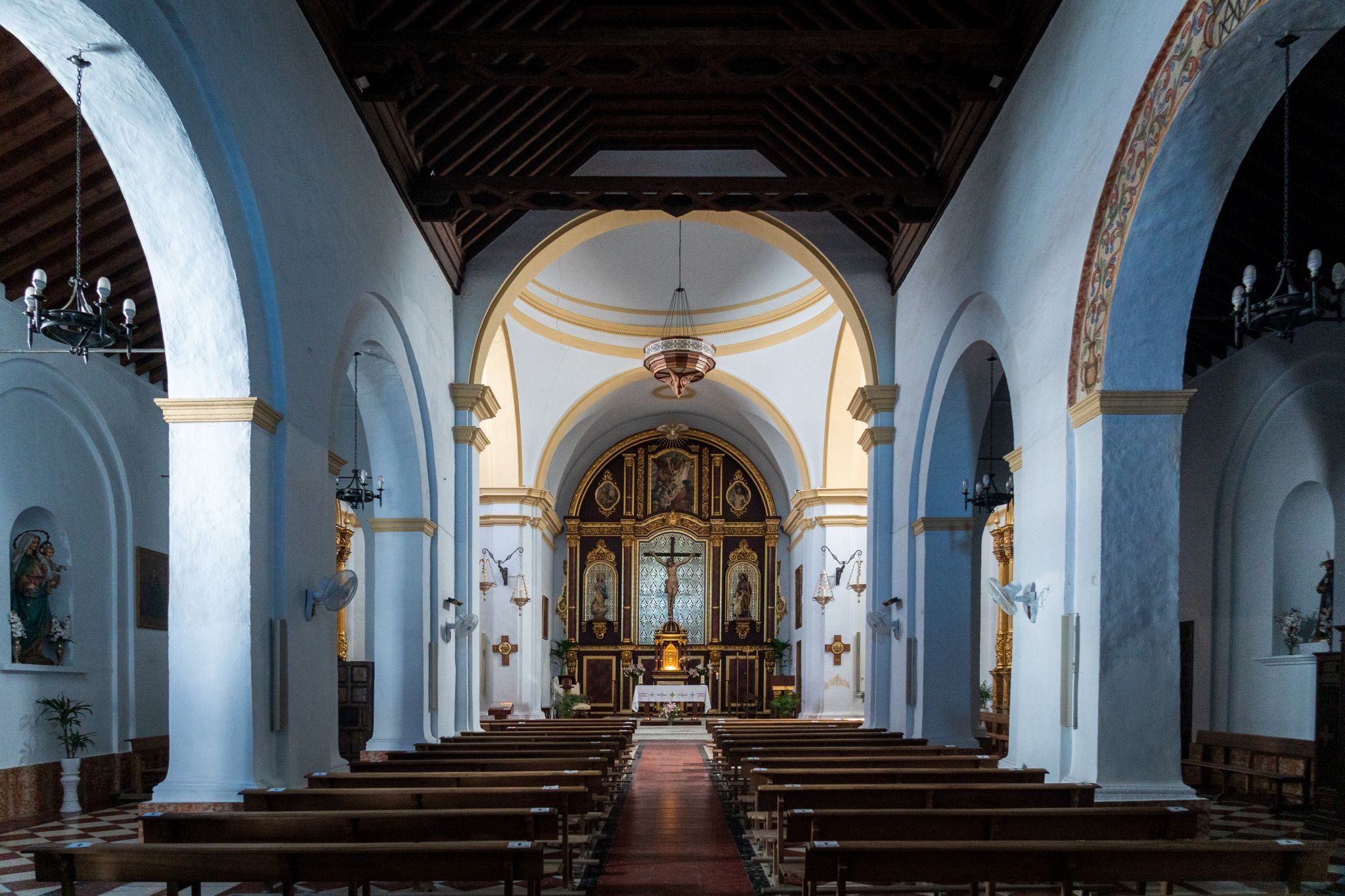 Church of St Anthony of Padua, Frigiliana, Spain