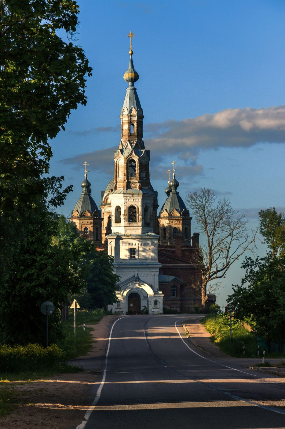 Church of the Nativity of Christ in Staropolye, Russia, Russian Federation