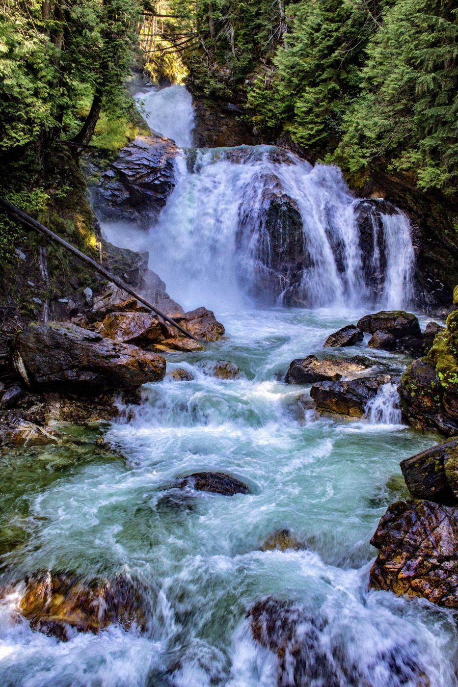Crazy Creek Falls, Canada