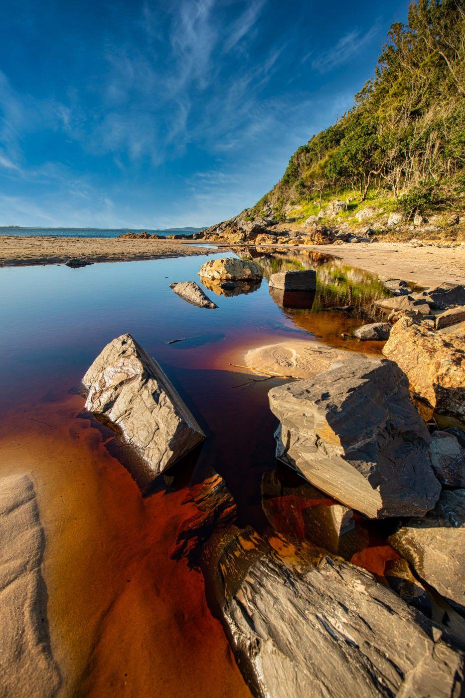 Elizabeth Beach Blueys Beach New South Wales, Australia