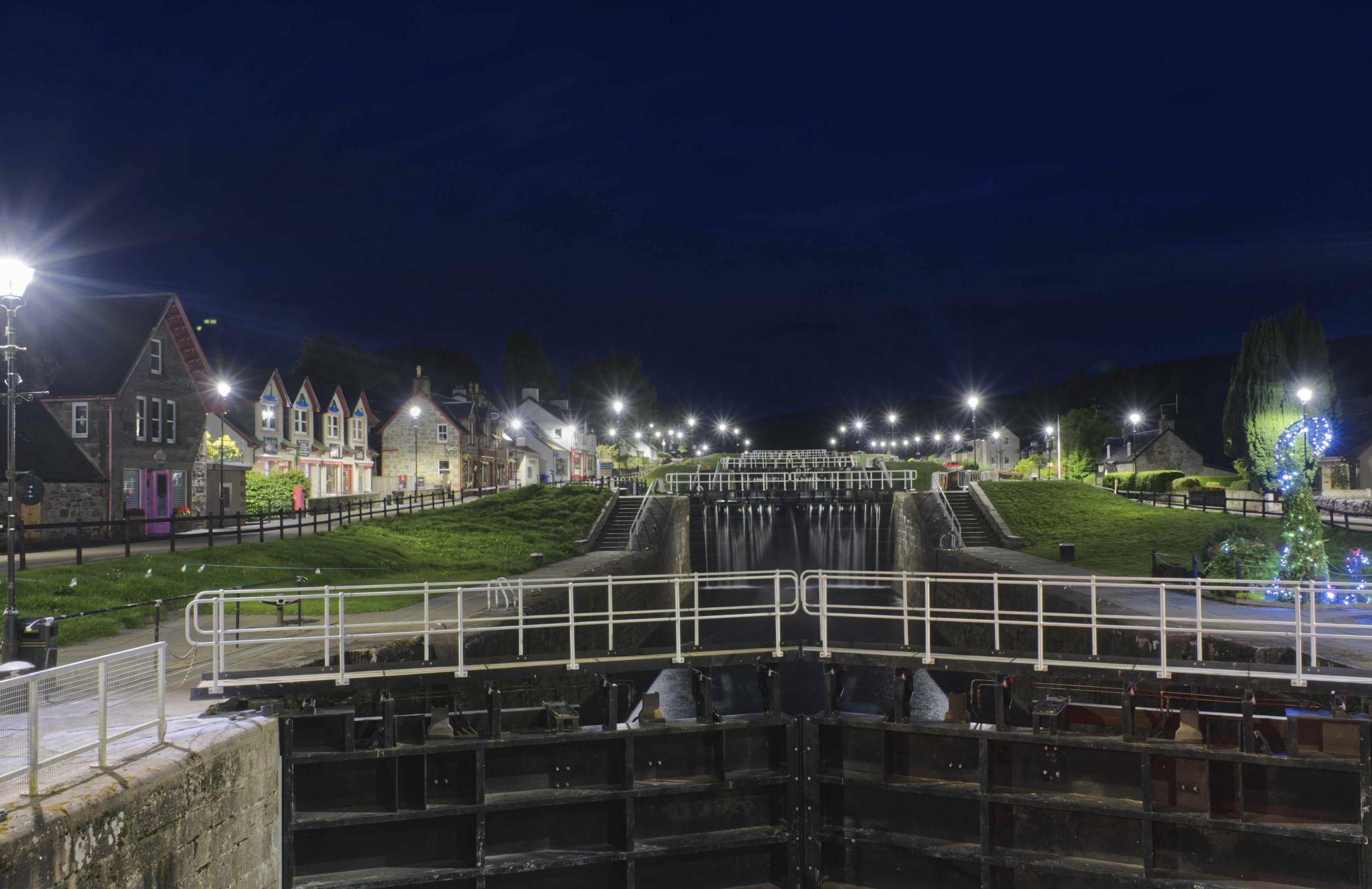 Fort Augustus locks, United Kingdom