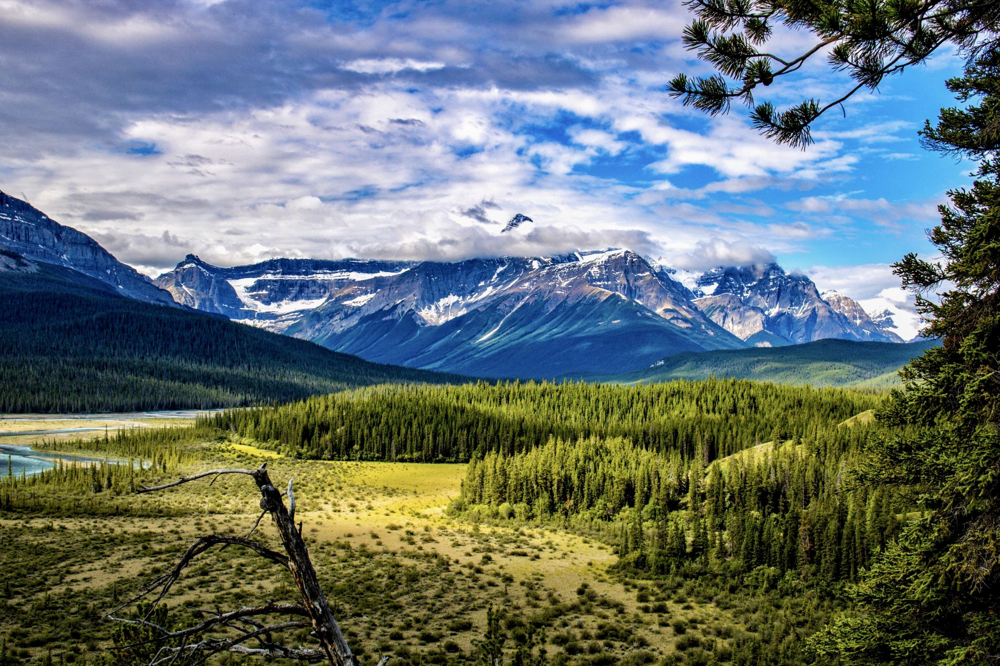 Howe's Pass Viewpoint, Canada