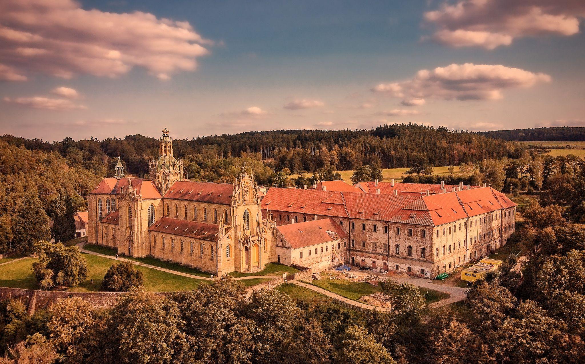 Kladruby Monastery, Czech Republic