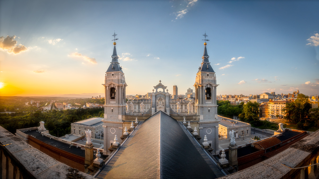Madrid Cathedral Dome, Spain