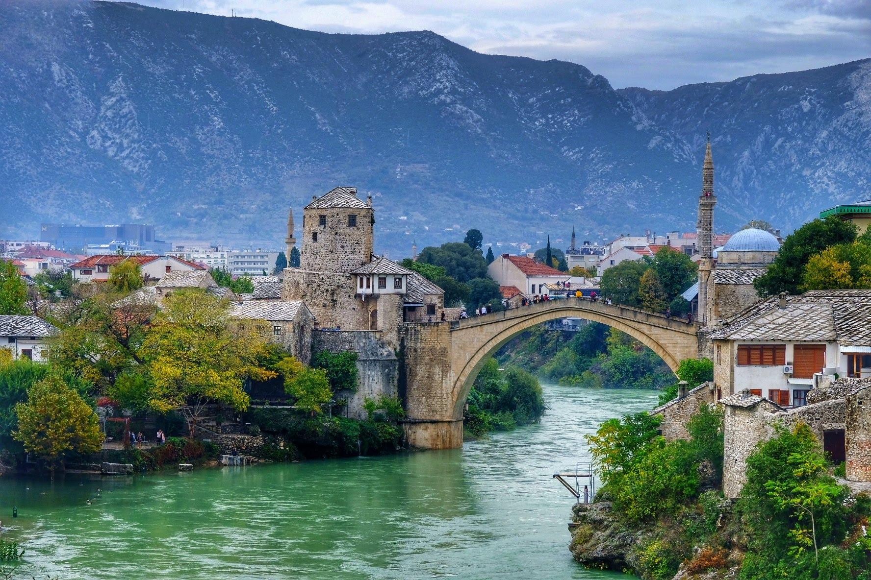 Mostar, The Old Bridge, Bosnia and Herzegovina