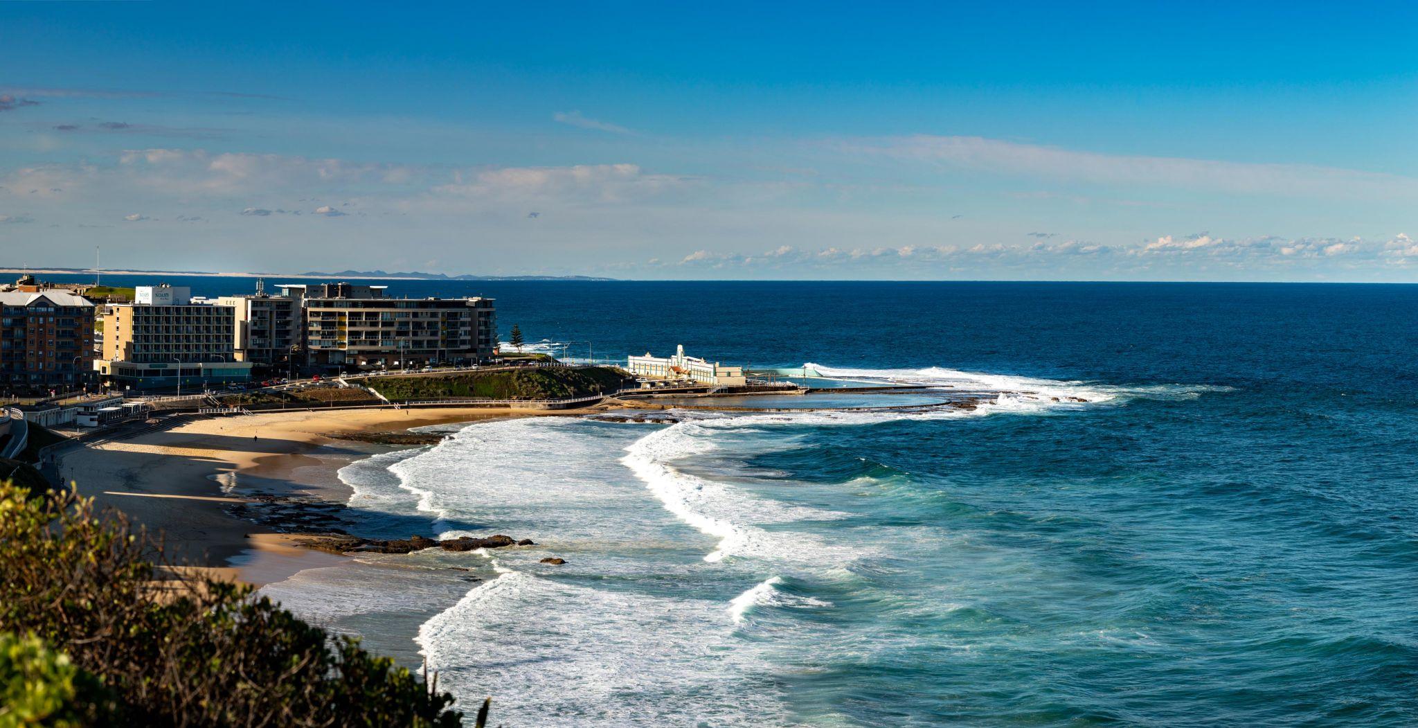 Newcastle Beach & Pool Newcastle New South Wales, Australia
