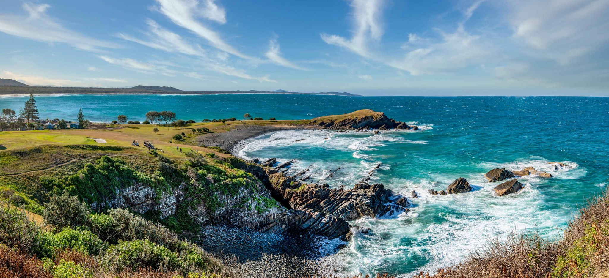 Pebbly Beach & Little Nobby Crescent Head New South Wales, Australia