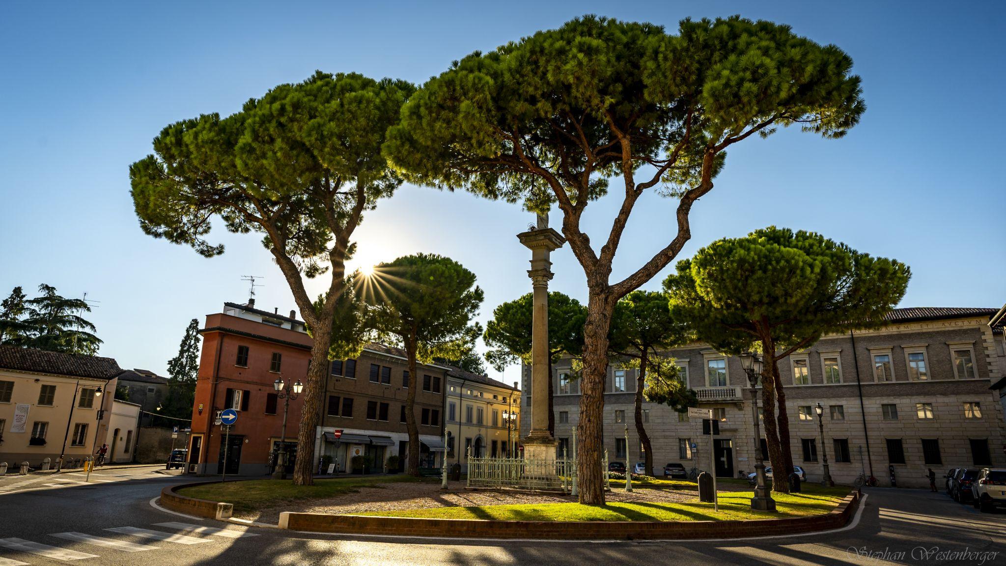 Piazza Duomo Ravenna, Italy
