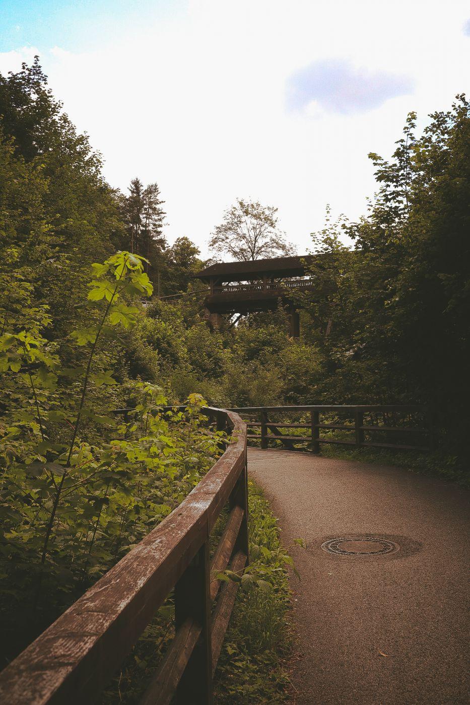 Pottenstein Holzbrücke, Germany