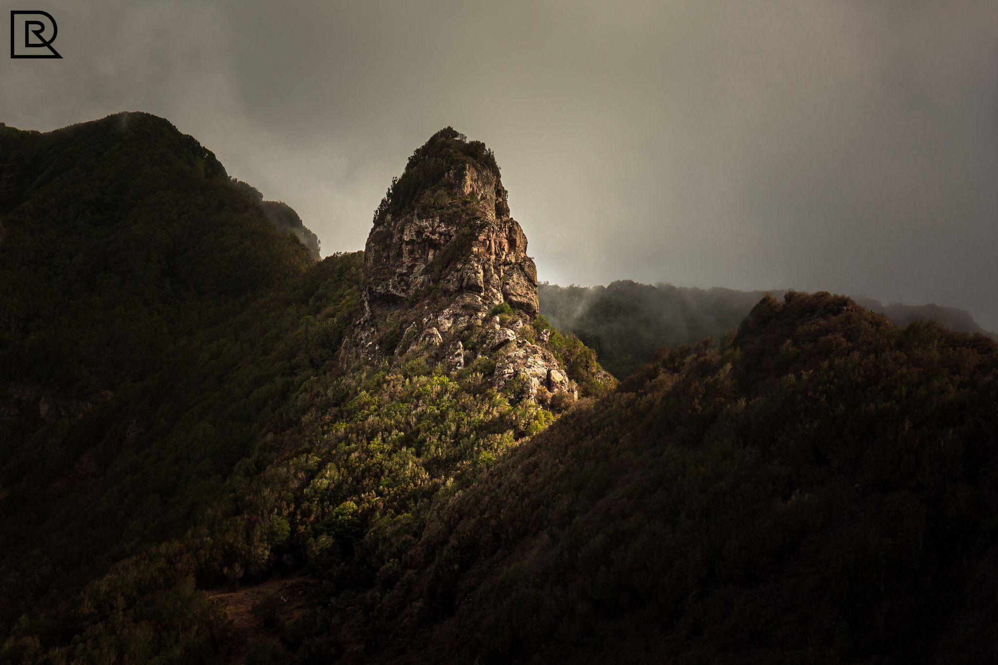 rock in Azanos, Spain