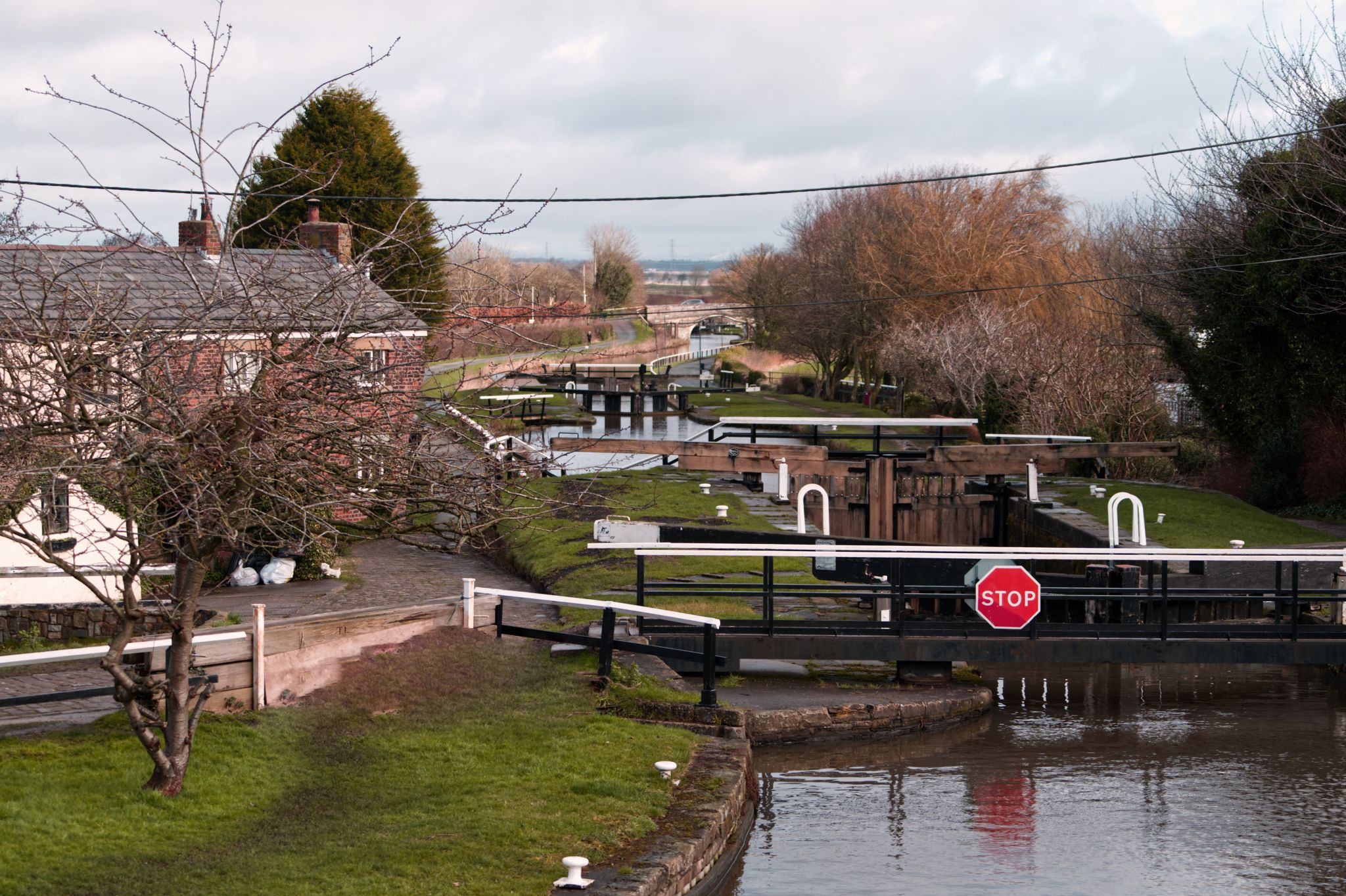 Rufford Locks, United Kingdom