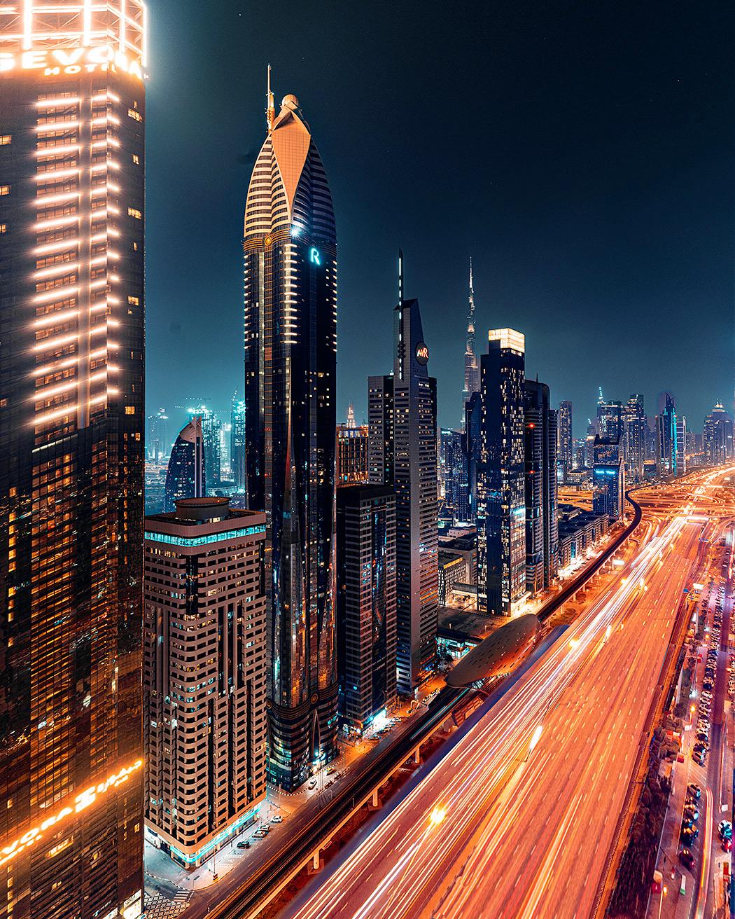 Sheikh Zayed Road, United Arab Emirates