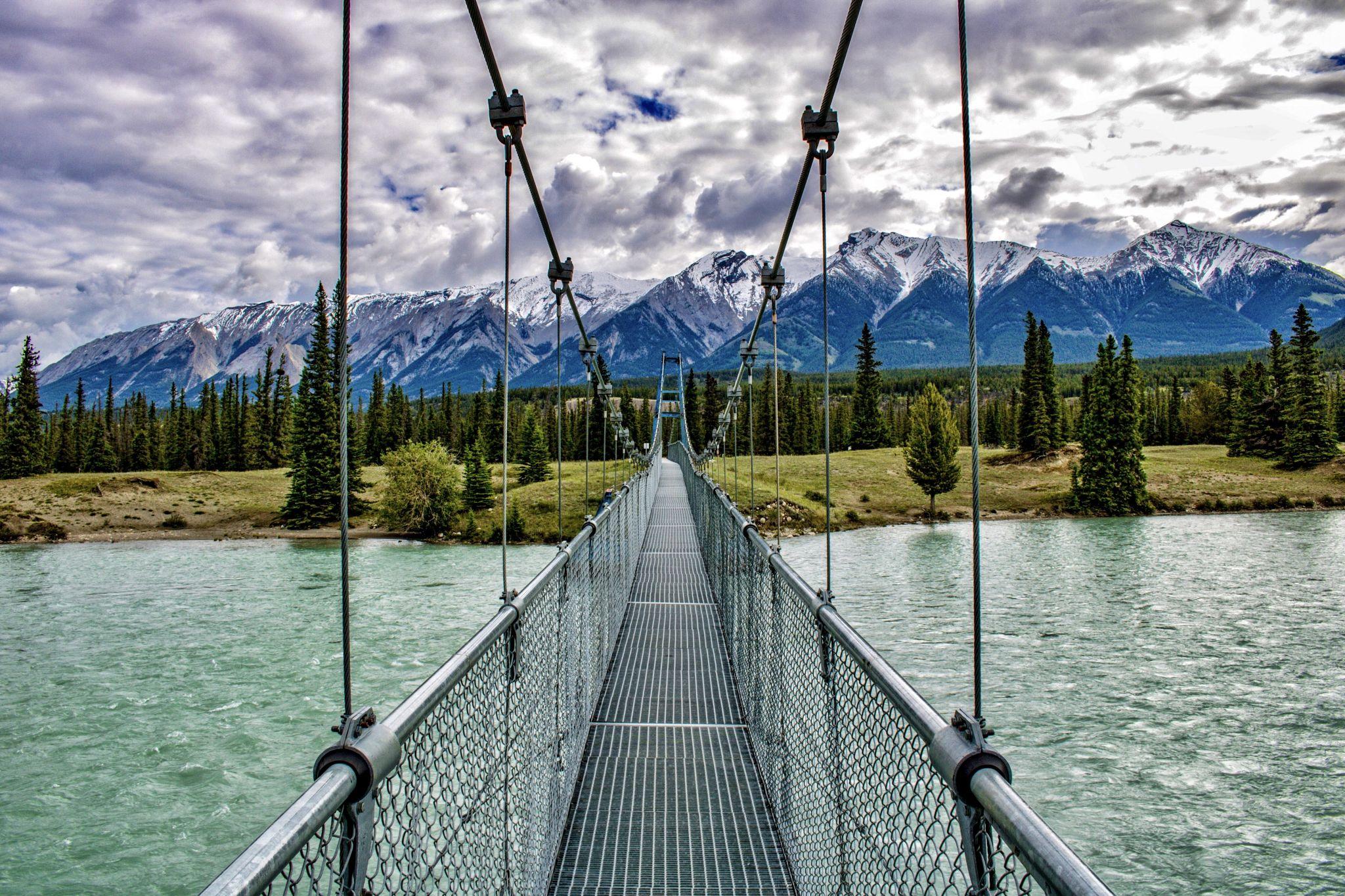 Siffleur Falls Trailhead, Canada