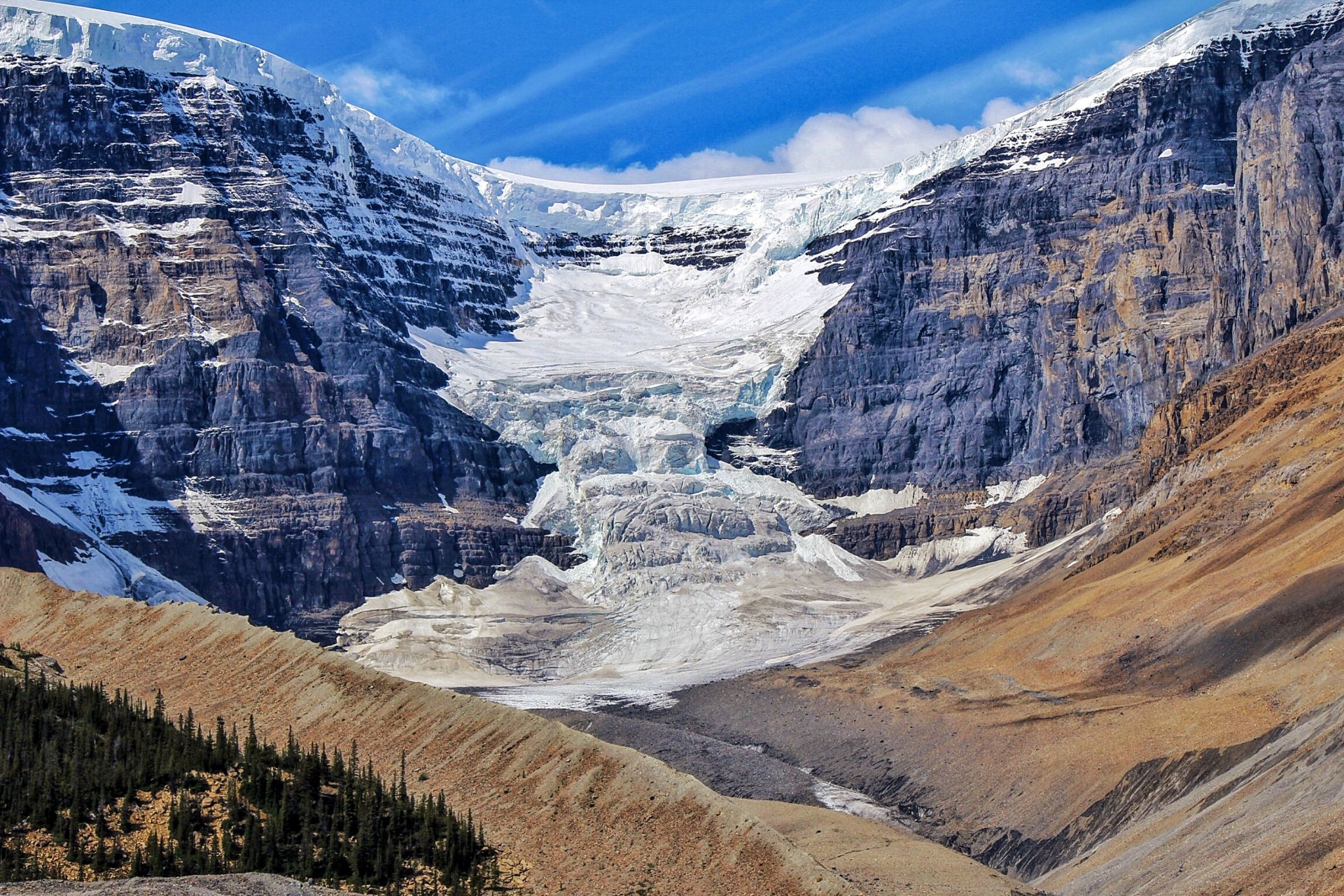 Stutfield Glacier, Canada