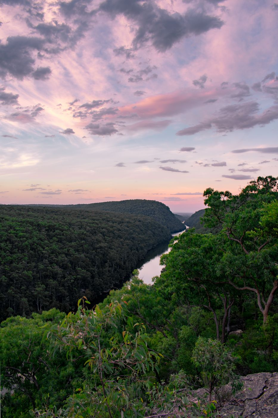 The Rock Lookout, Mulgoa, NSW, Australia., Australia