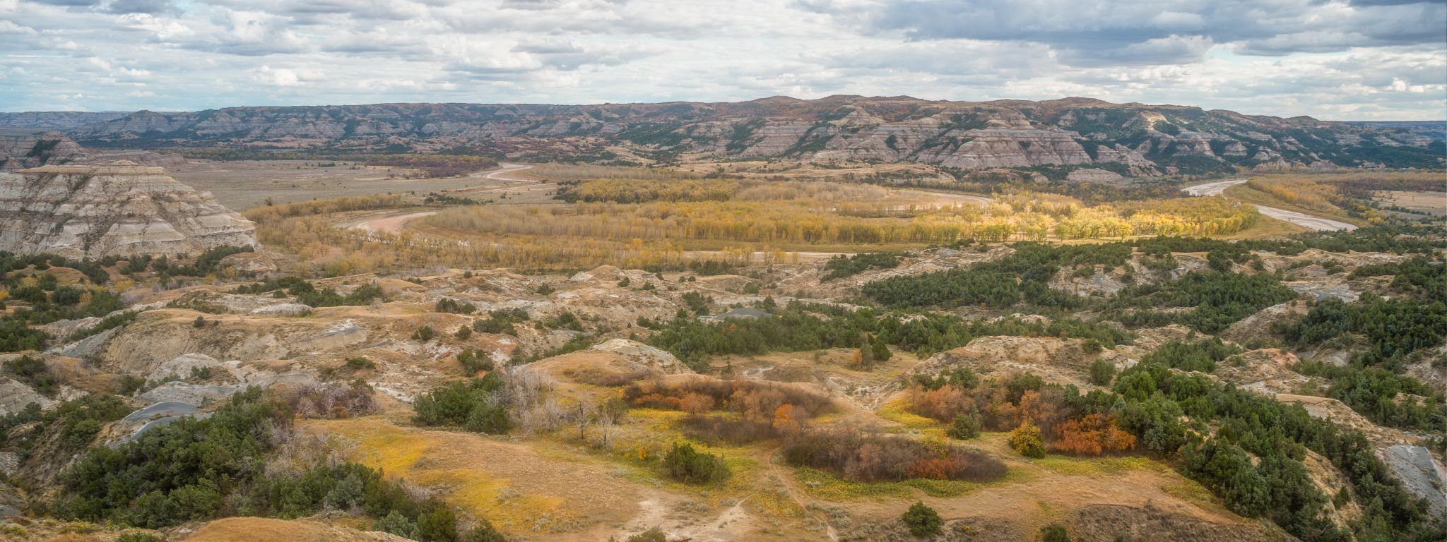 Theodore Roosevelt National Park - Oxbow Overlook, USA