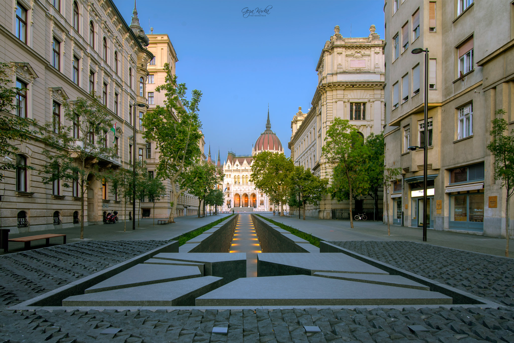 Trianon monument in Budapest., Hungary