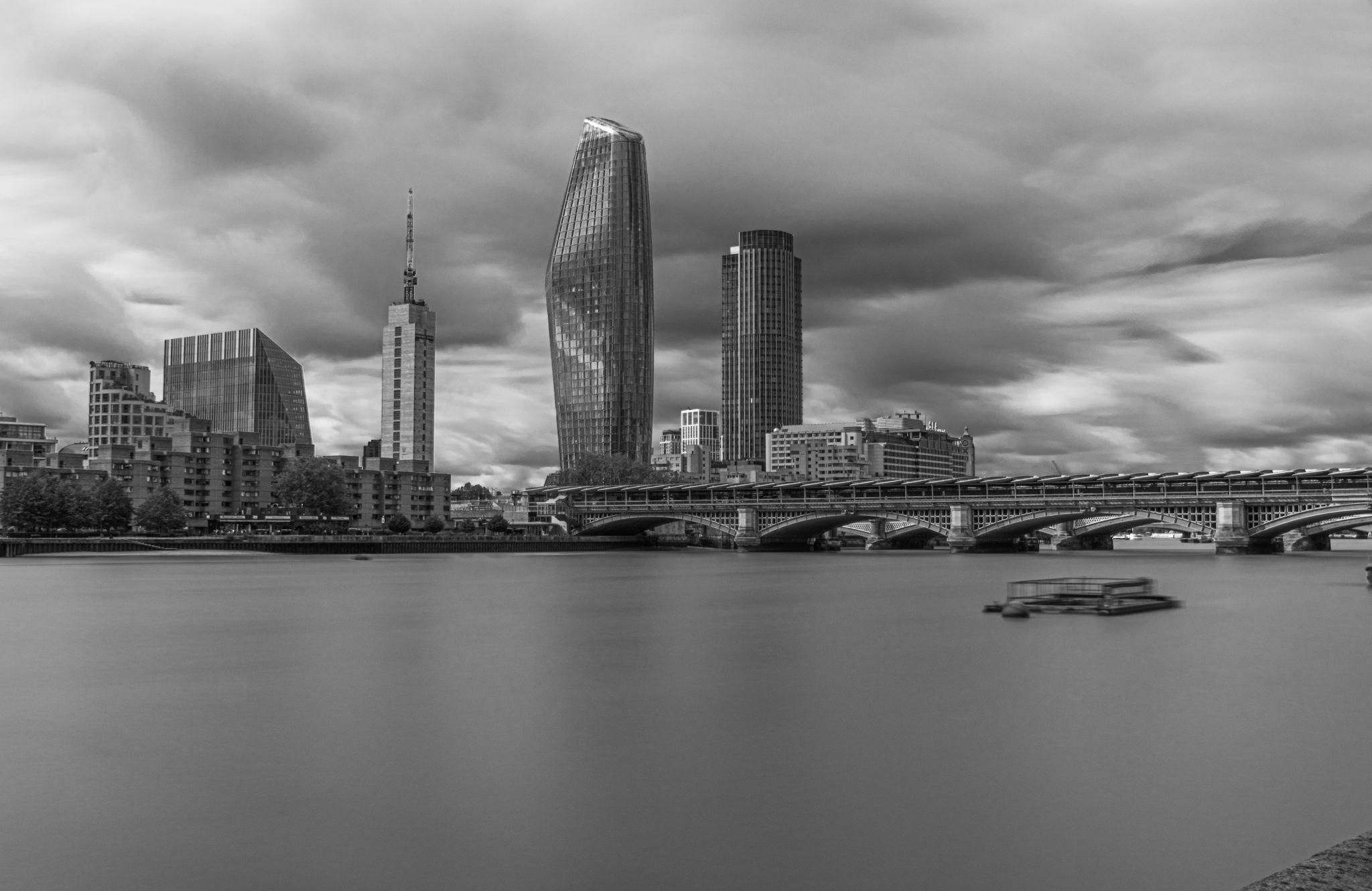 Under Millennium Bridge, United Kingdom