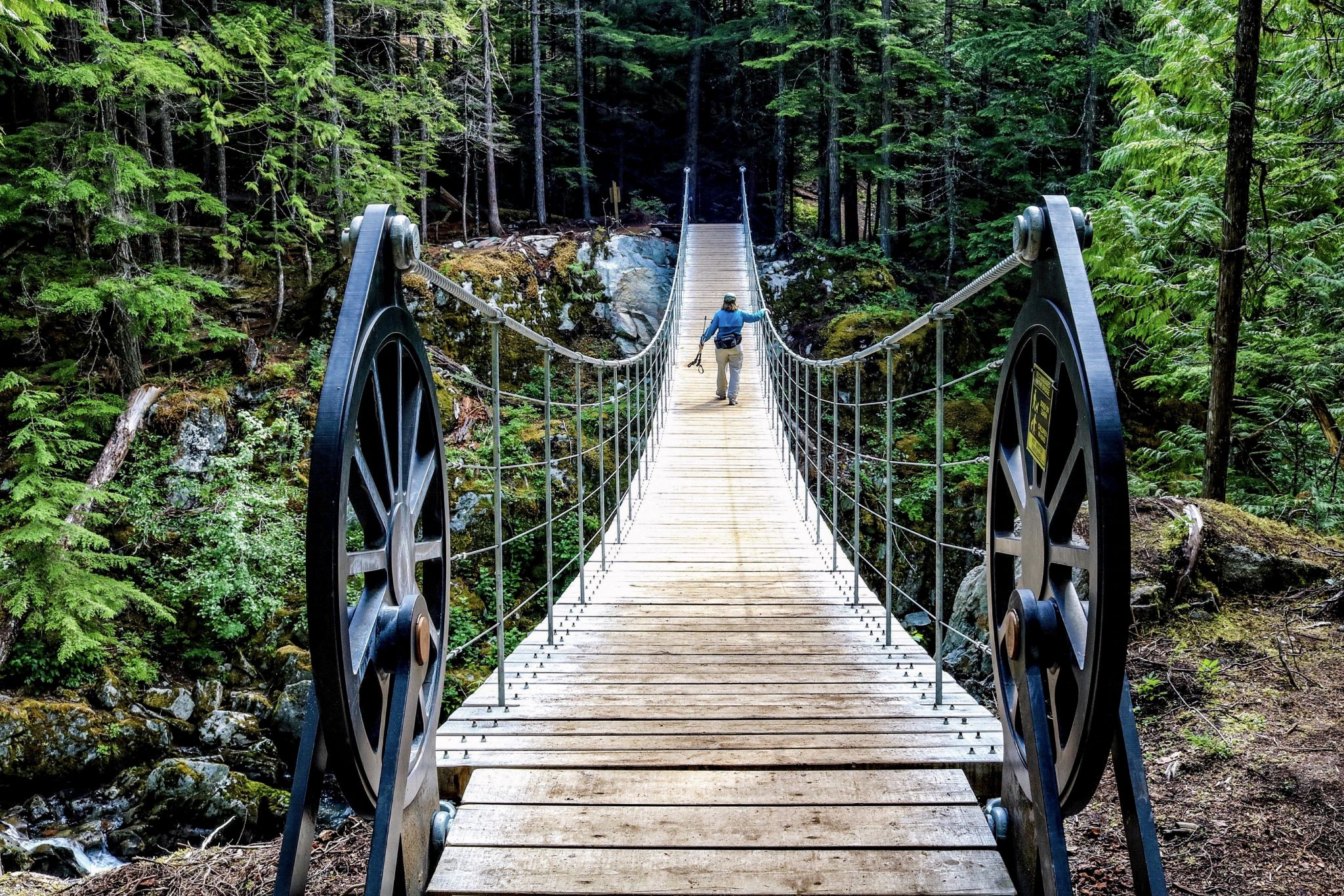 Whistler Train Wreck Bridge, Canada