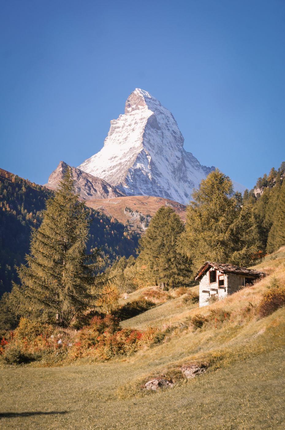 Zermatt Edelweissweg, Switzerland
