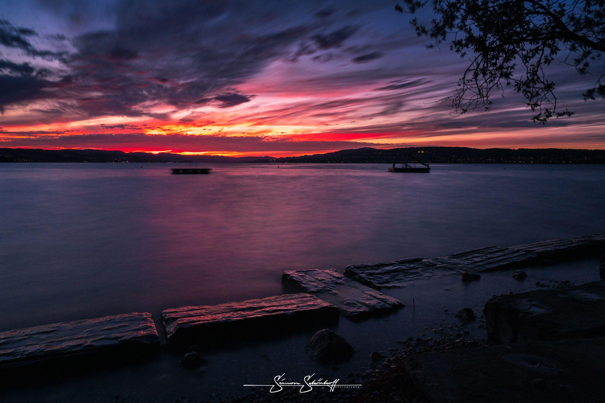 Zürichsee bei Pfäffikon, Switzerland