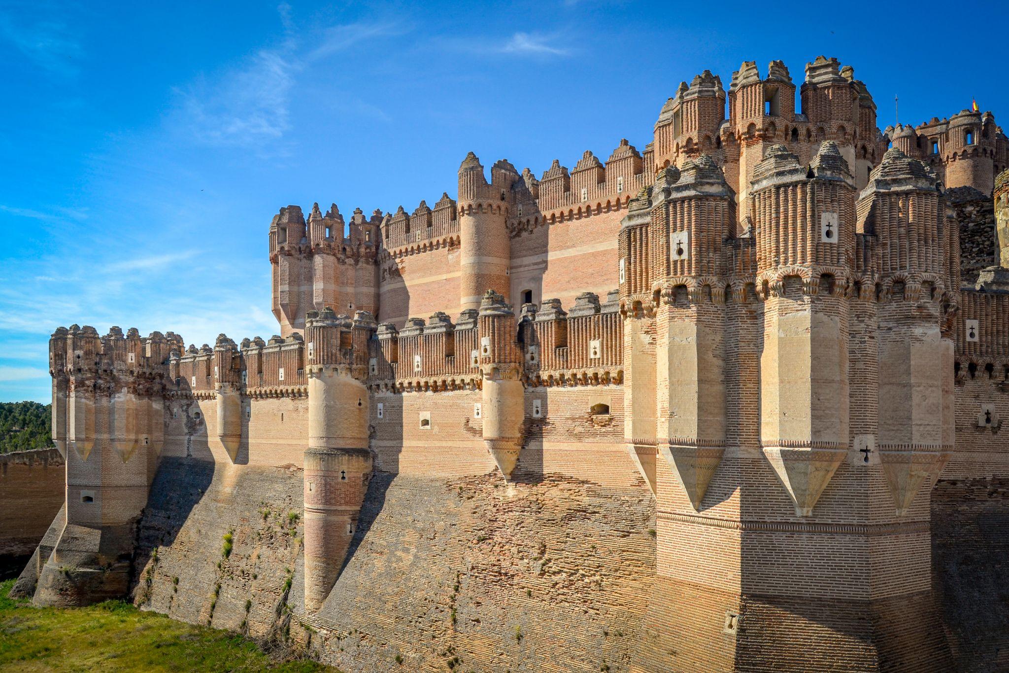 Coca Castle, Spain