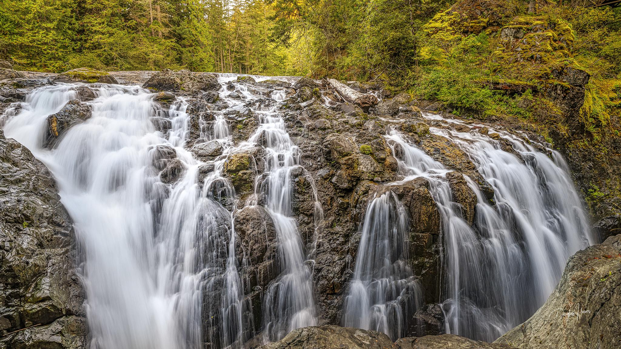 Englishman River Upper Falls, Canada