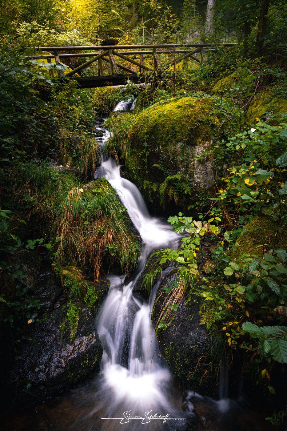 Gaishöll Waterfalls, Germany