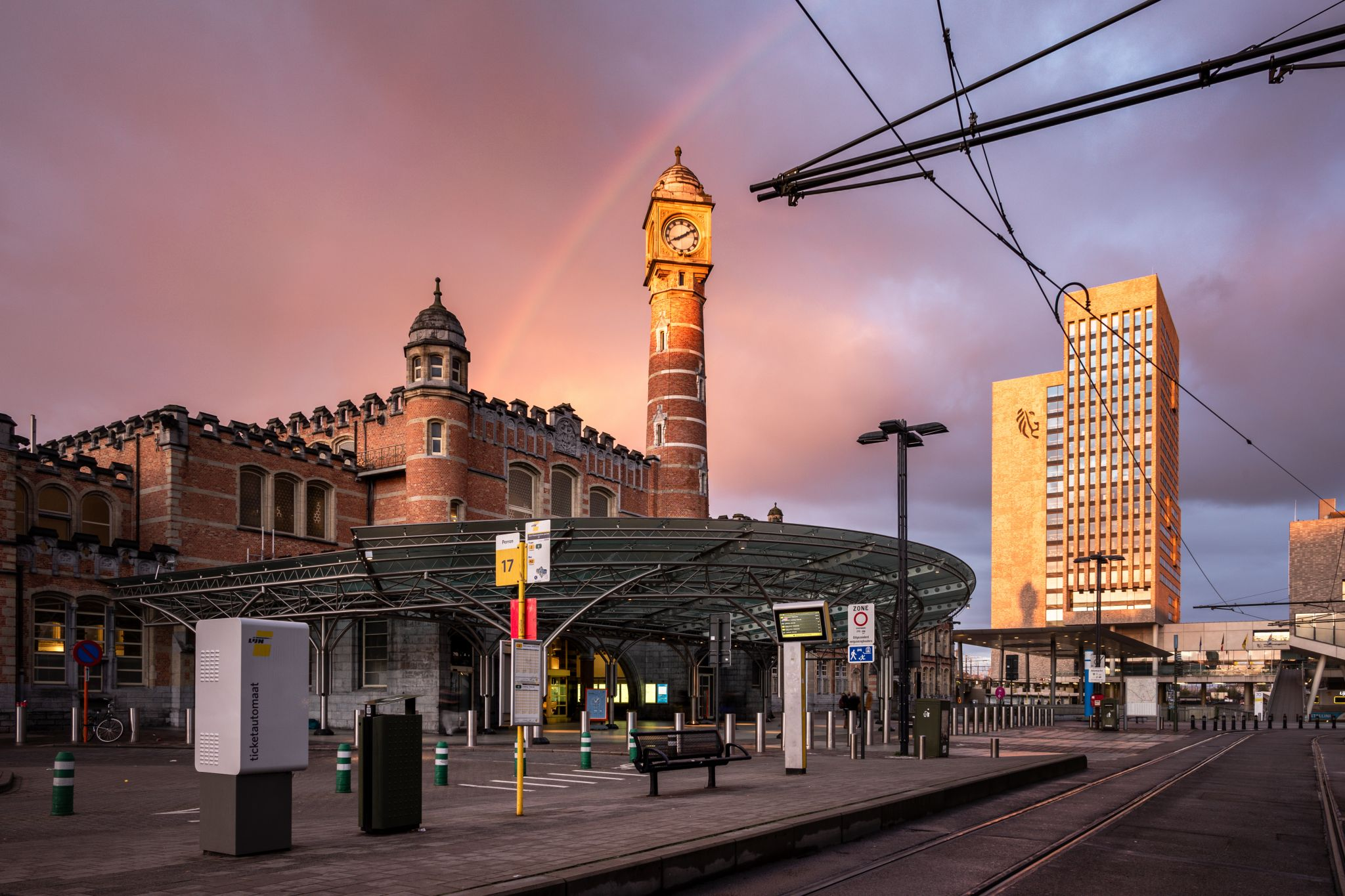 Ghent Sint Pieters Railway Station, Belgium