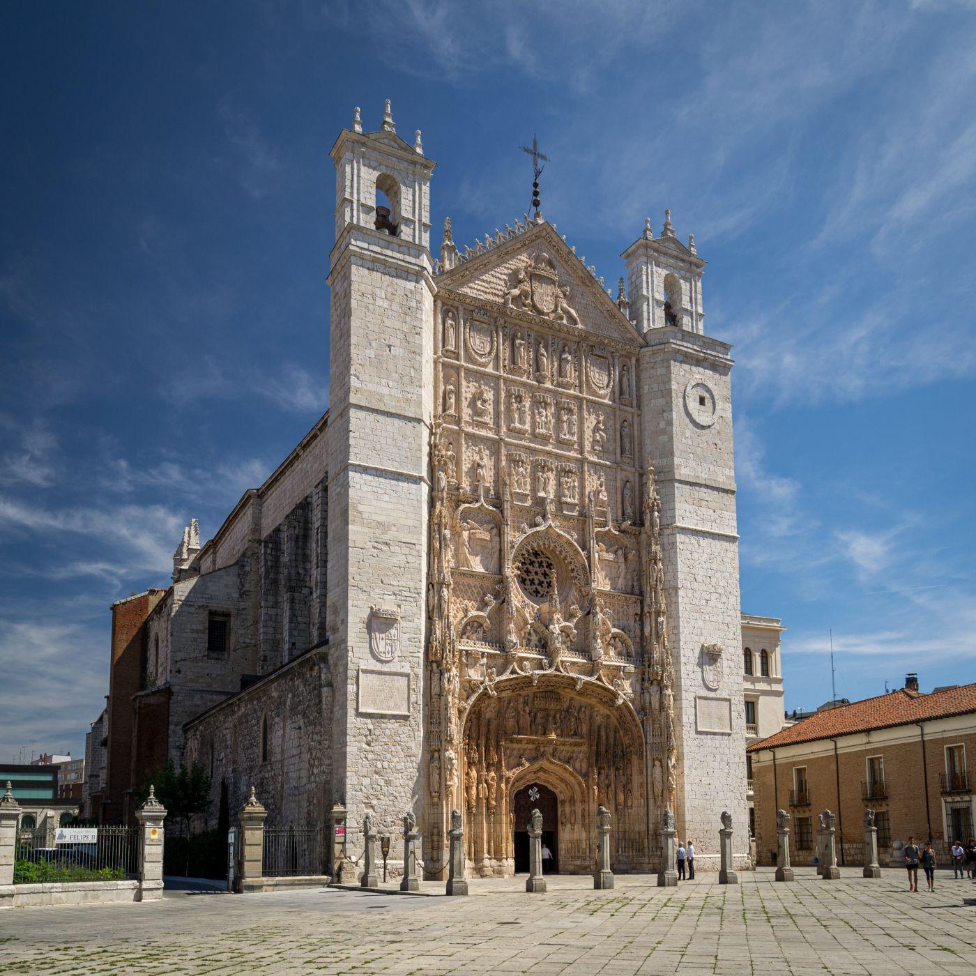 Iglesia de San Pablo de Valladolid, Spain